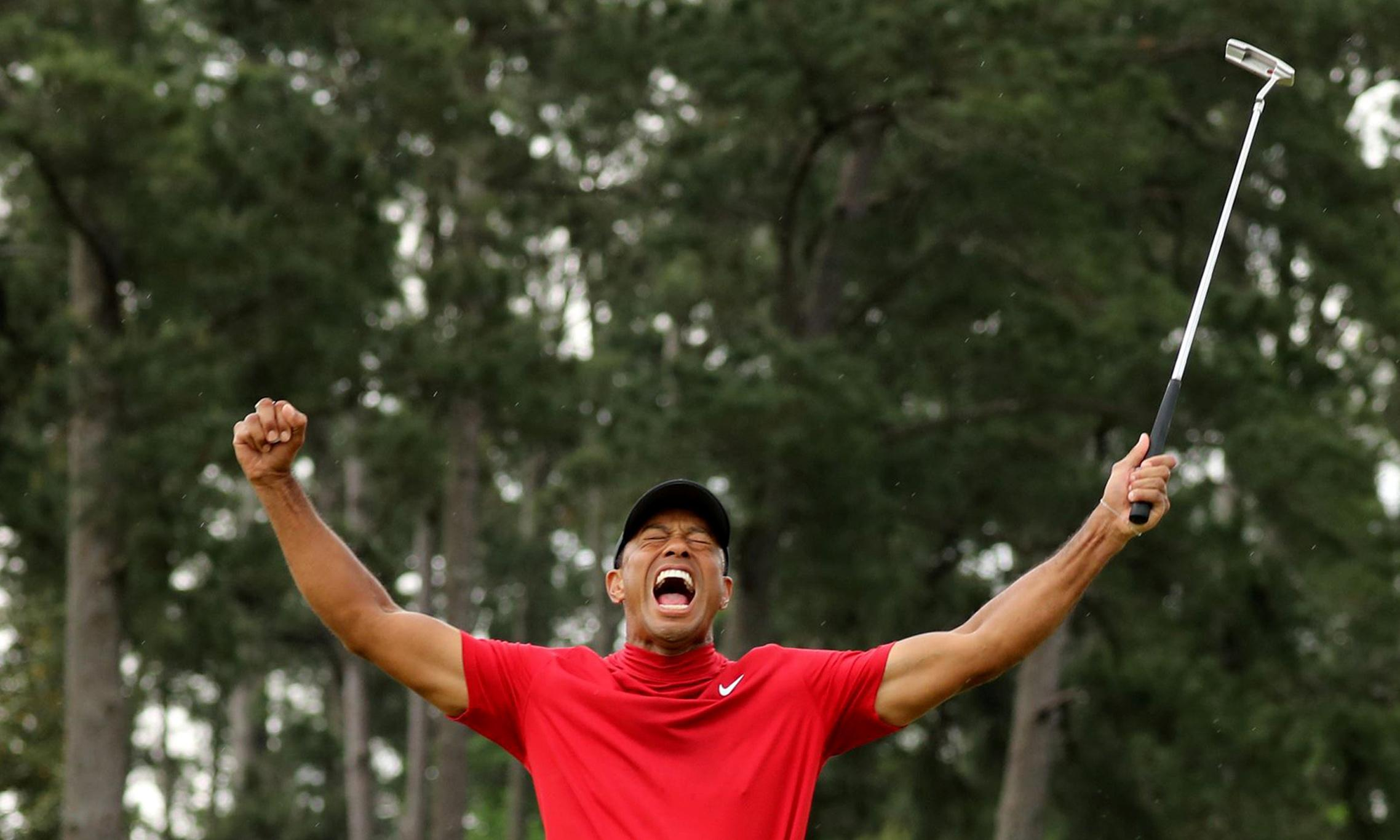 I'm glad Tiger won the Masters, but he's no hero to the Black community