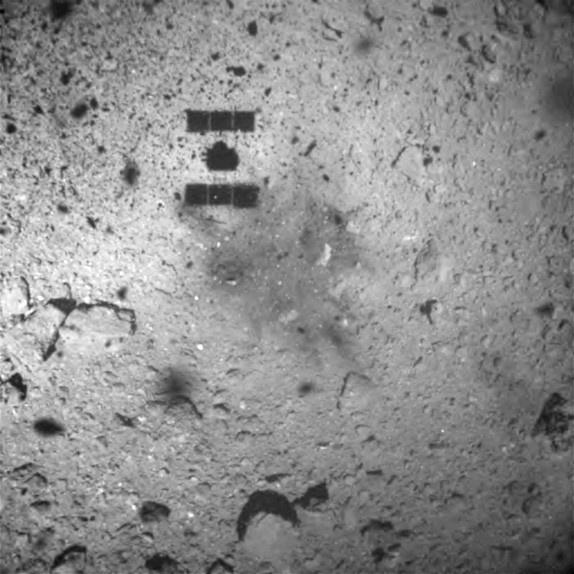 Japan's Hayabusa 2 successfully touches down on Ryugu asteroid