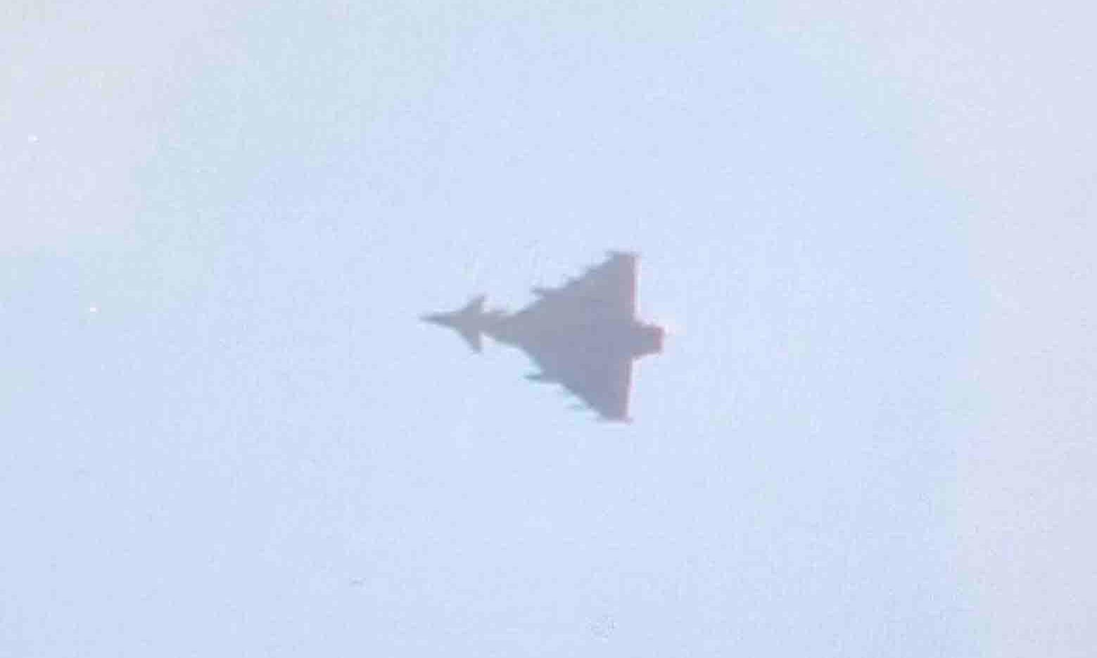 RAF jets escort Air India plane to Stansted after bomb threat