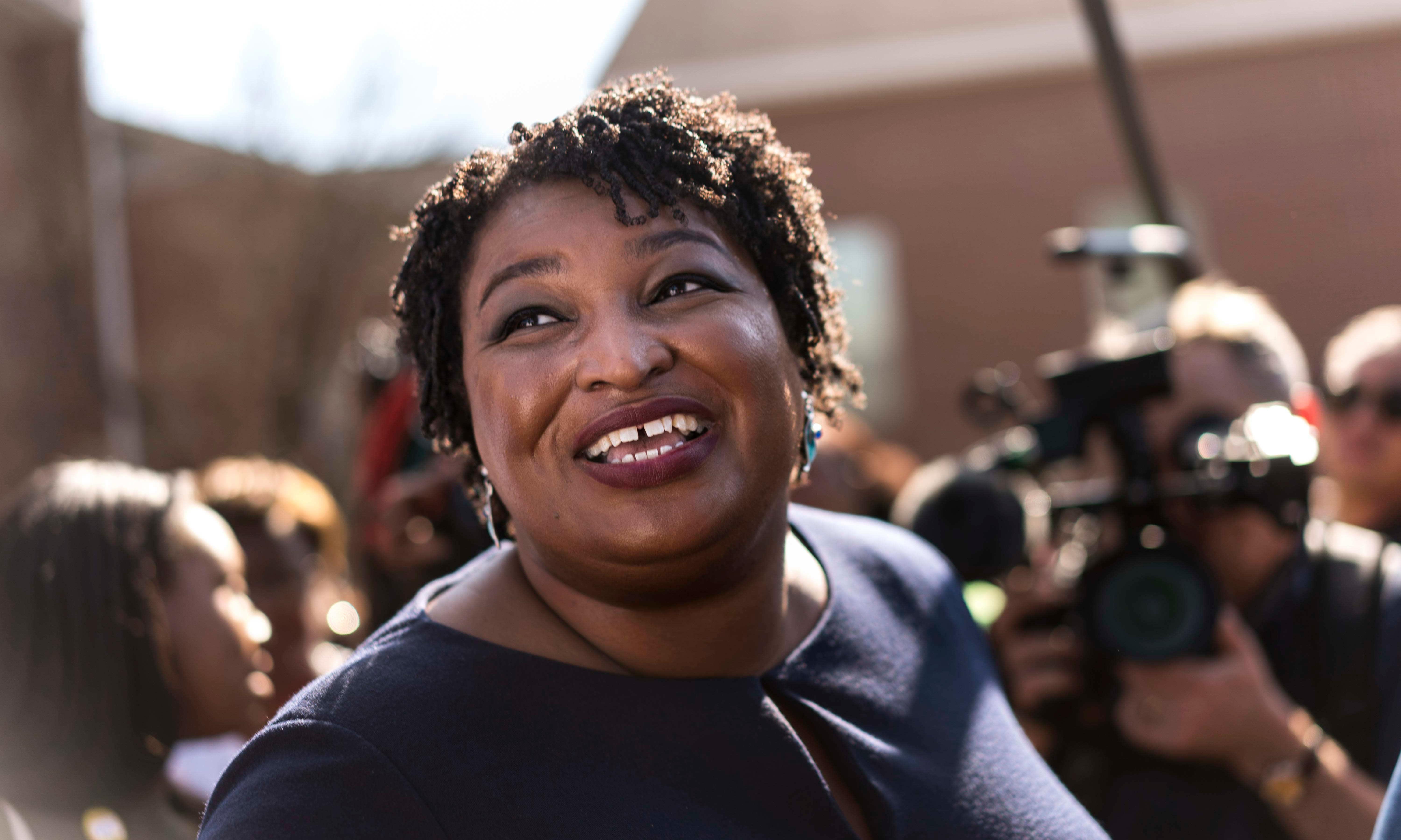 Stacey Abrams on the ticket? Democrat's star turn fuels talk for 2020
