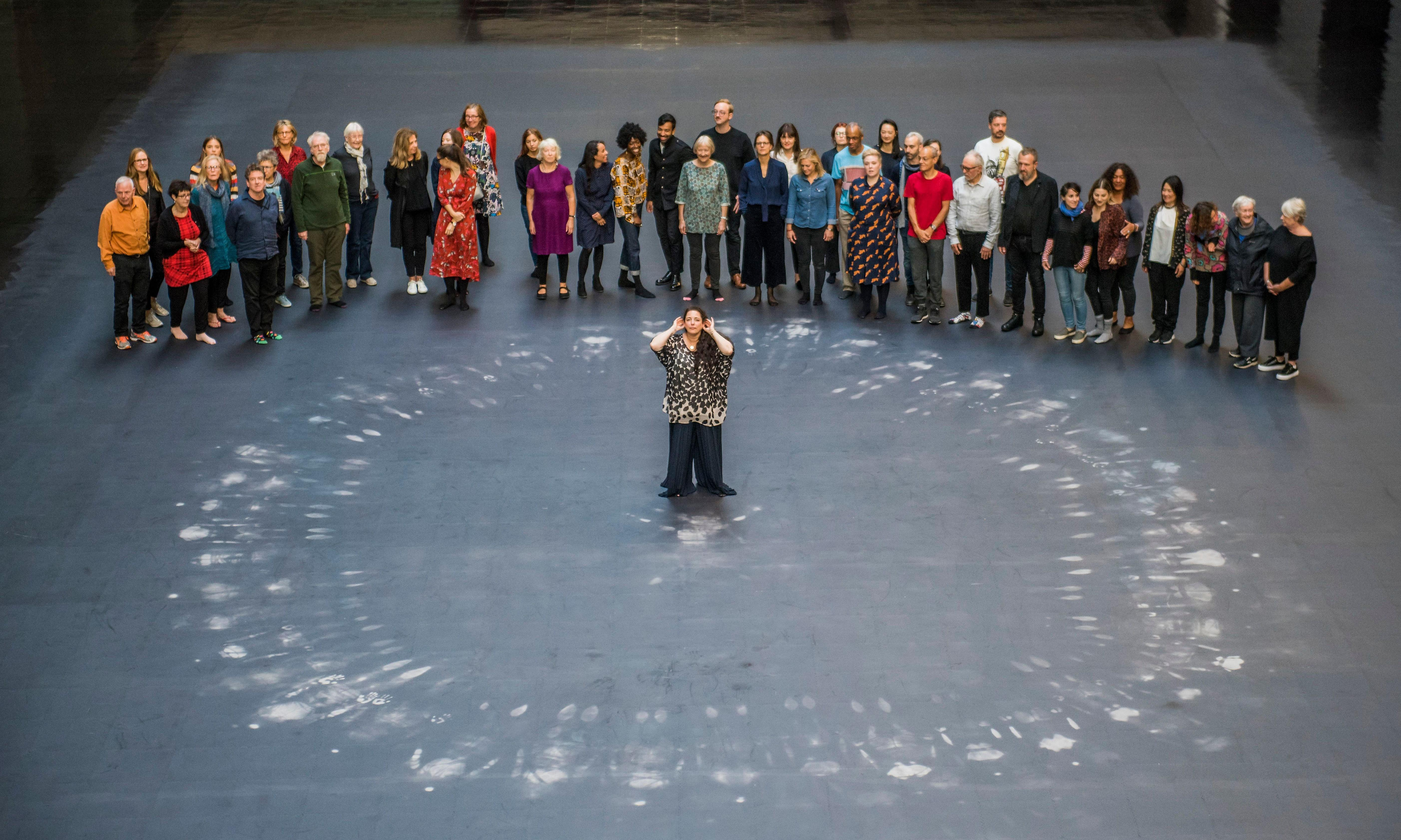 Tania Bruguera at Turbine Hall review – 'It didn't make me cry but it cleared the tubes'