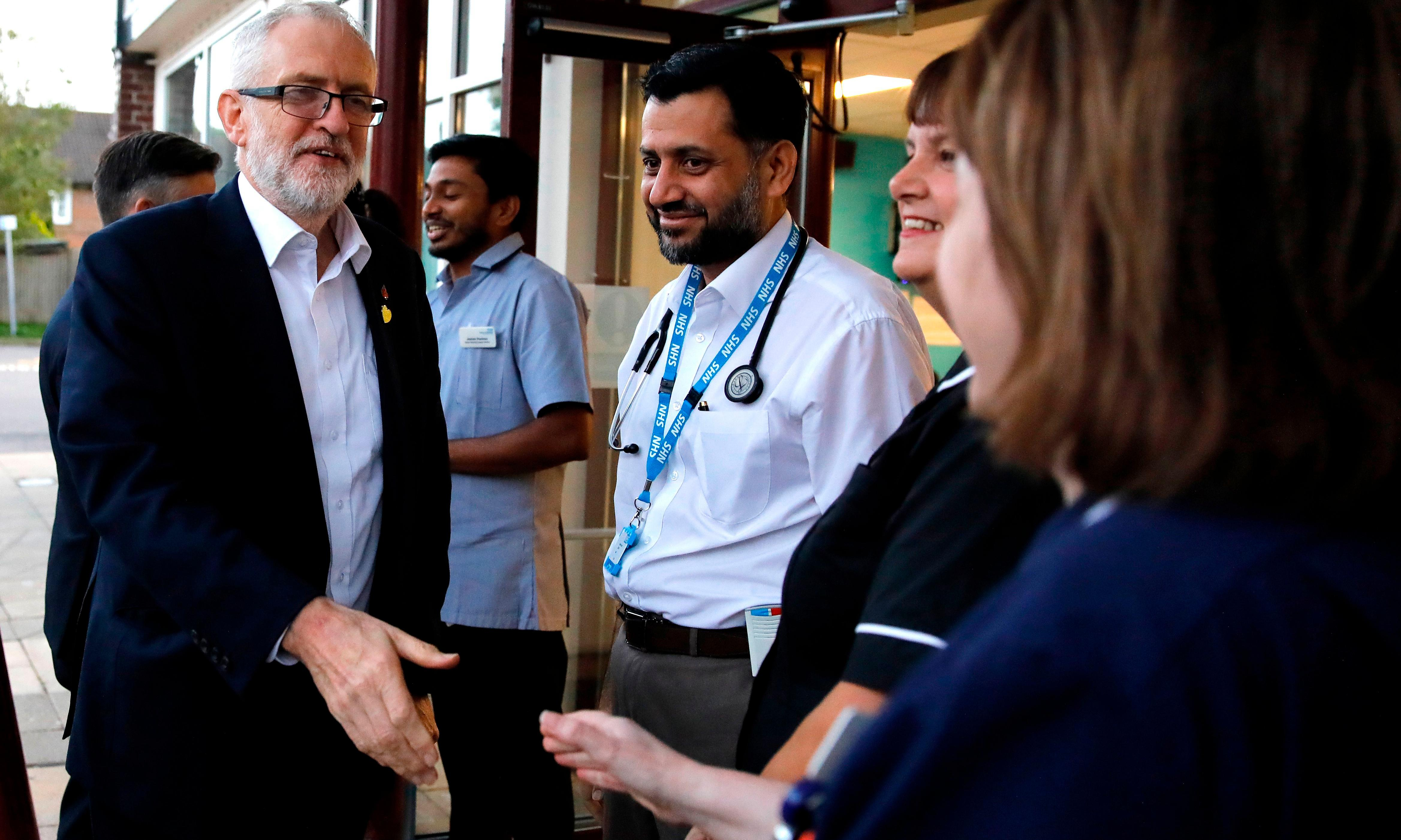 How will Labour put an extra £26bn into the NHS by 2024?