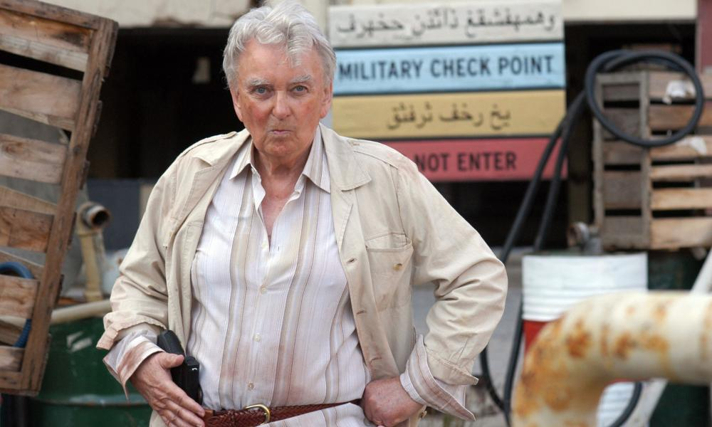 An actors playing Tony Blair in Iraq on Time Trumpet