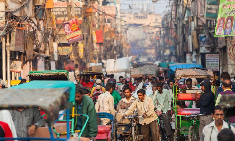 Chandi Chowk market, Old Delhi.