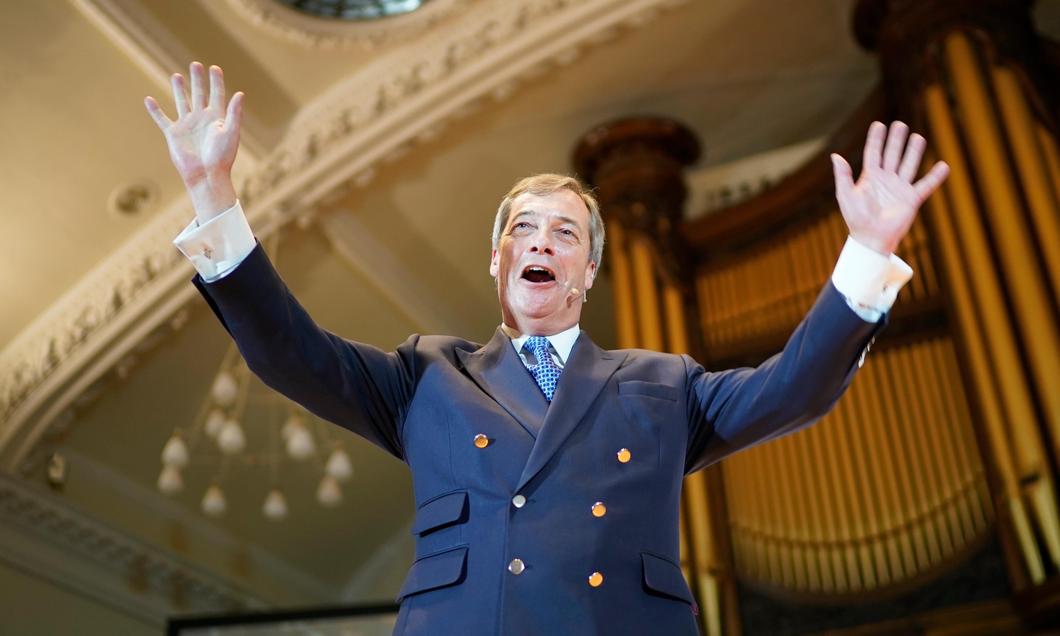 Only Labour can stop Nigel Farage and his Thatcherite revival