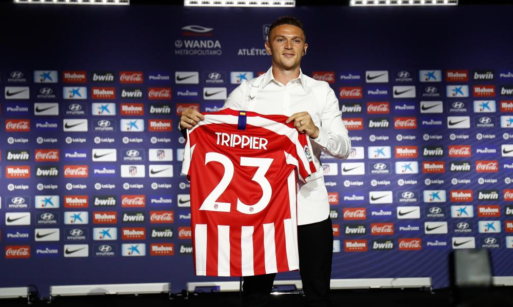 Kieran Trippier has swapped London for Madrid and a new start at Atlético.
