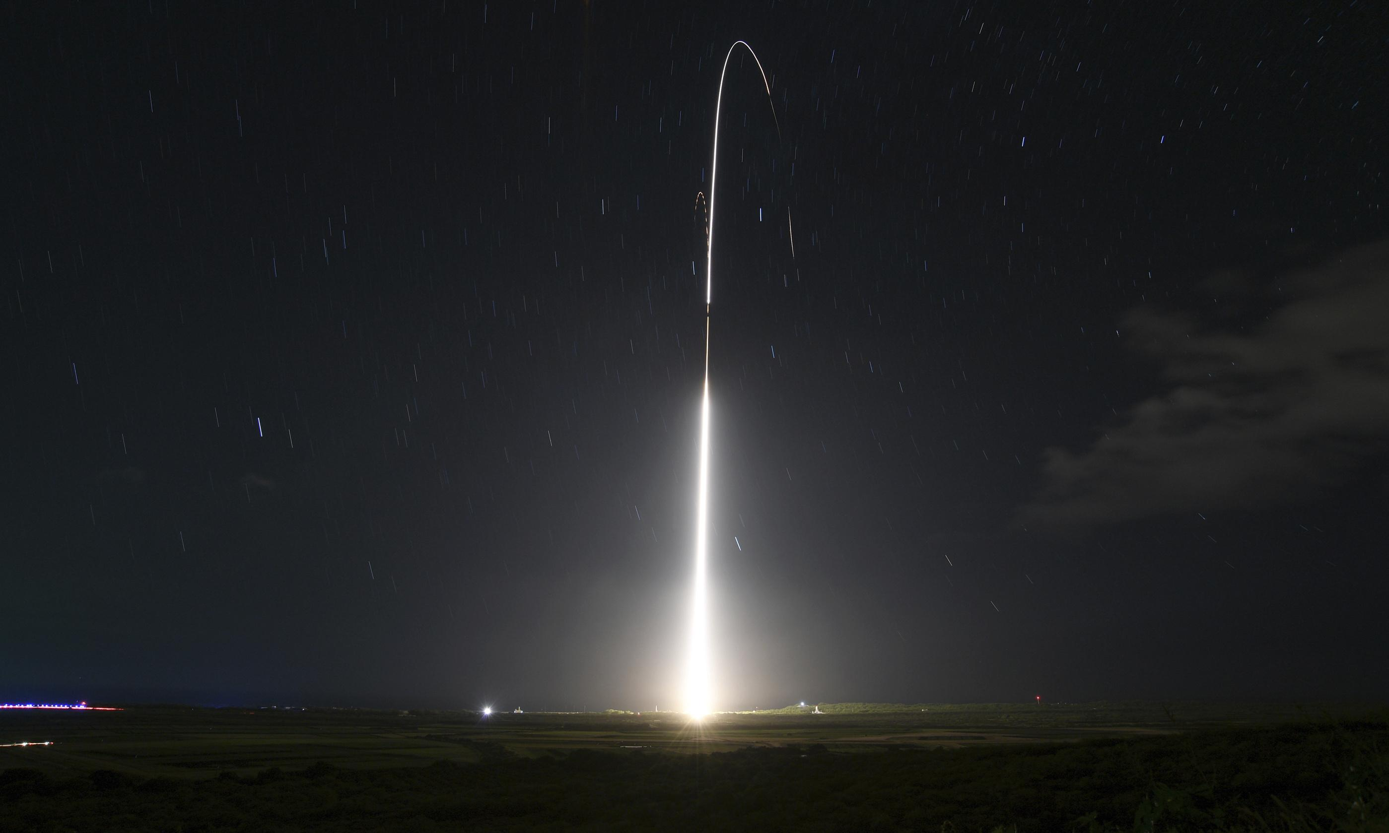 US plans new space sensors for missile defence against 'rogue states'