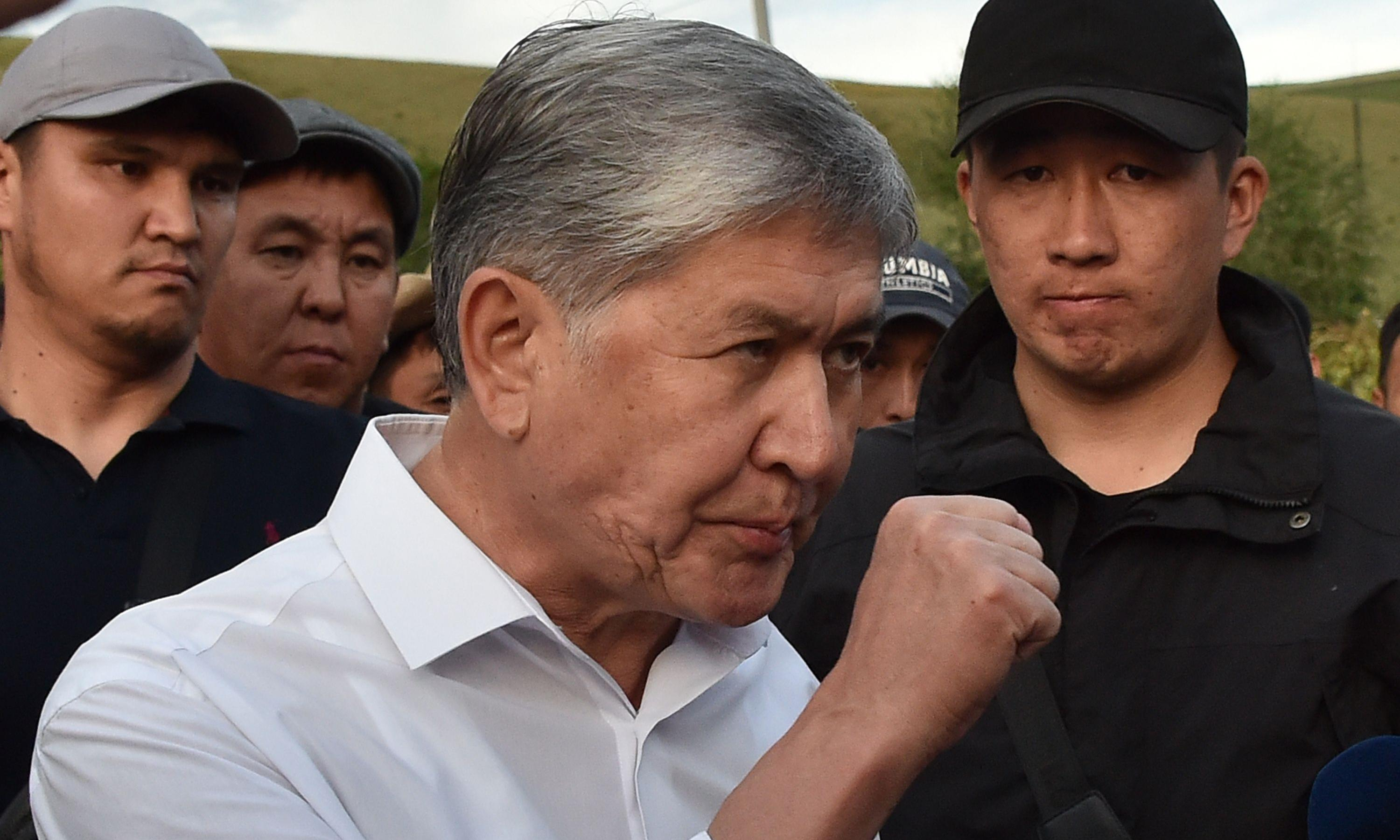 Kyrgyzstan's ex-president charged with murder after deadly clashes