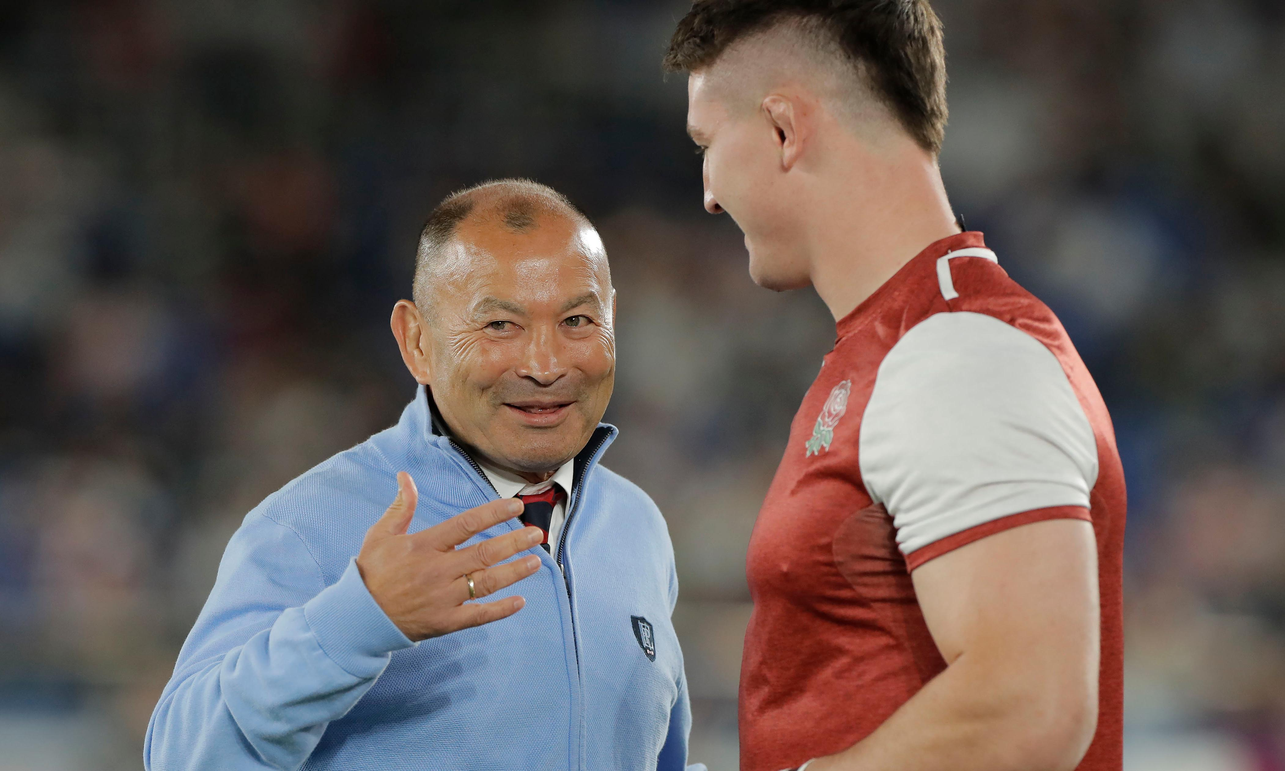 Eddie Jones' England future could turn on Tom Curry winning No 8 duel
