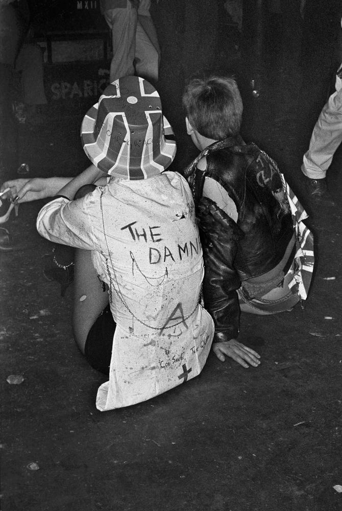 Punks in London 1977