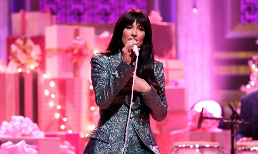 Kacey Musgraves on The Tonight Show Starring Jimmy Fallon in 2019
