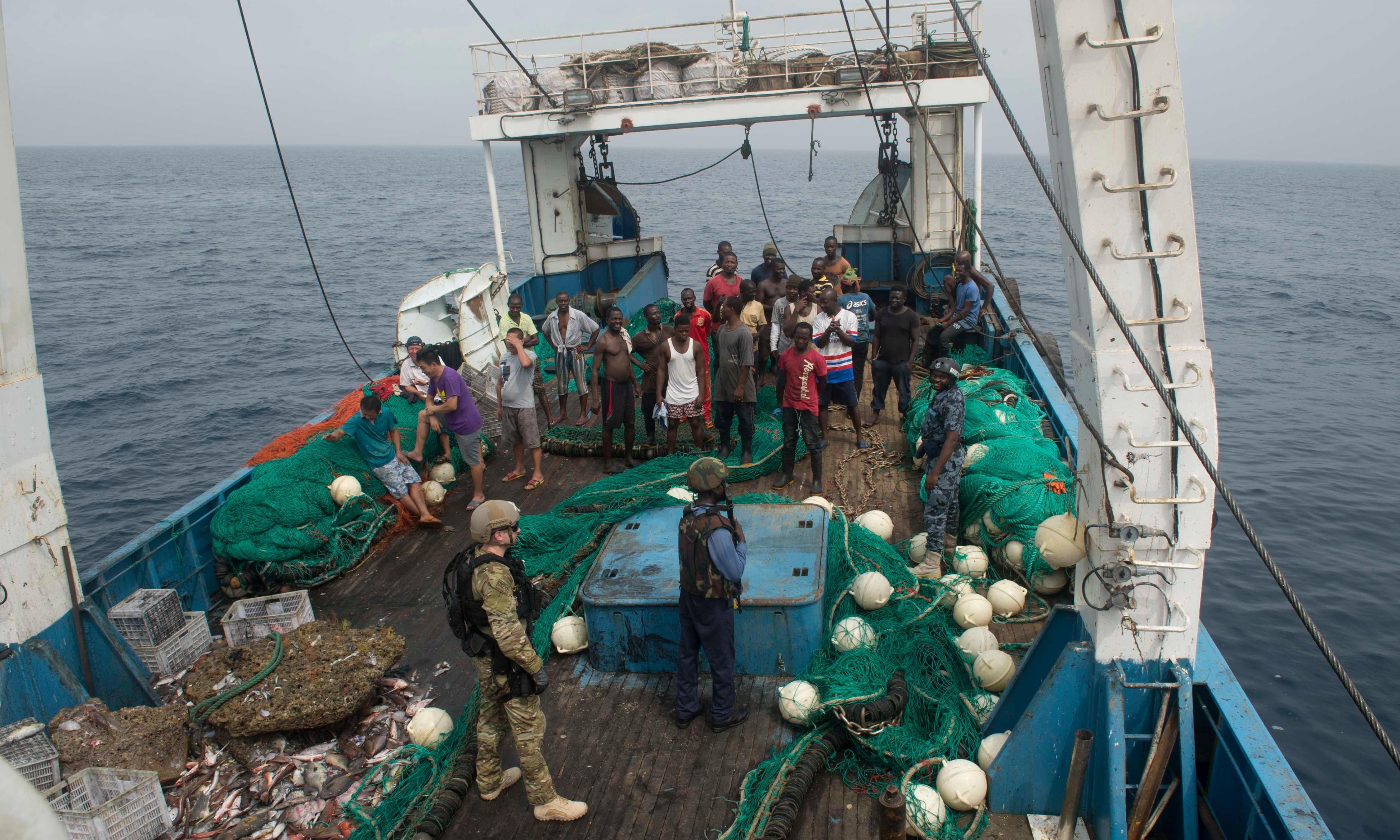 The vanishing: Ghana's defenders face new perils in fight against overfishing