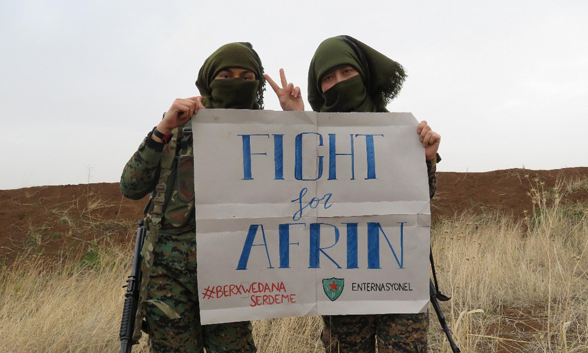 Sajid Javid should not be allowed to criminalise the British heroes of Rojava