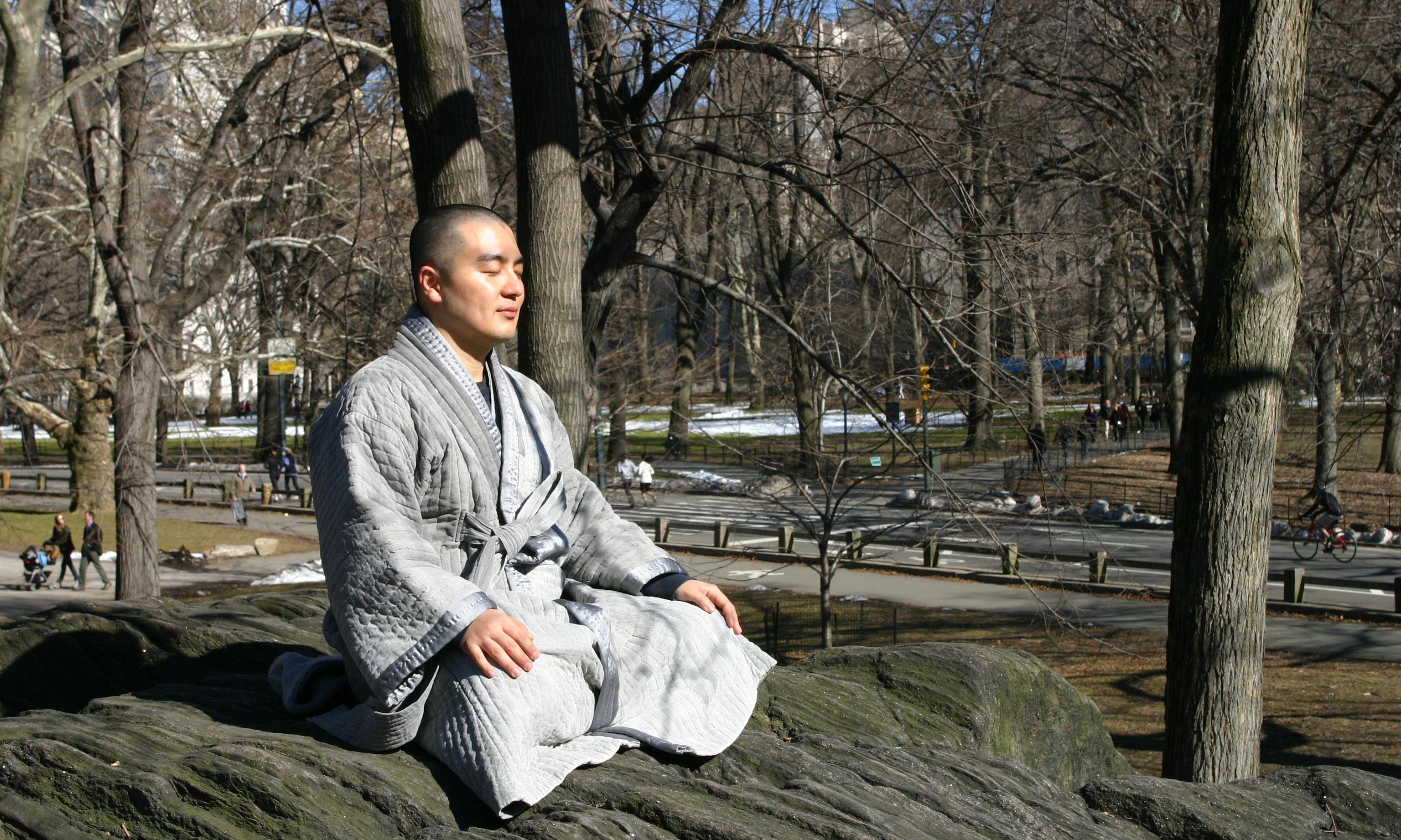 The 'mega monk' who wants us to slow down and embrace our imperfections