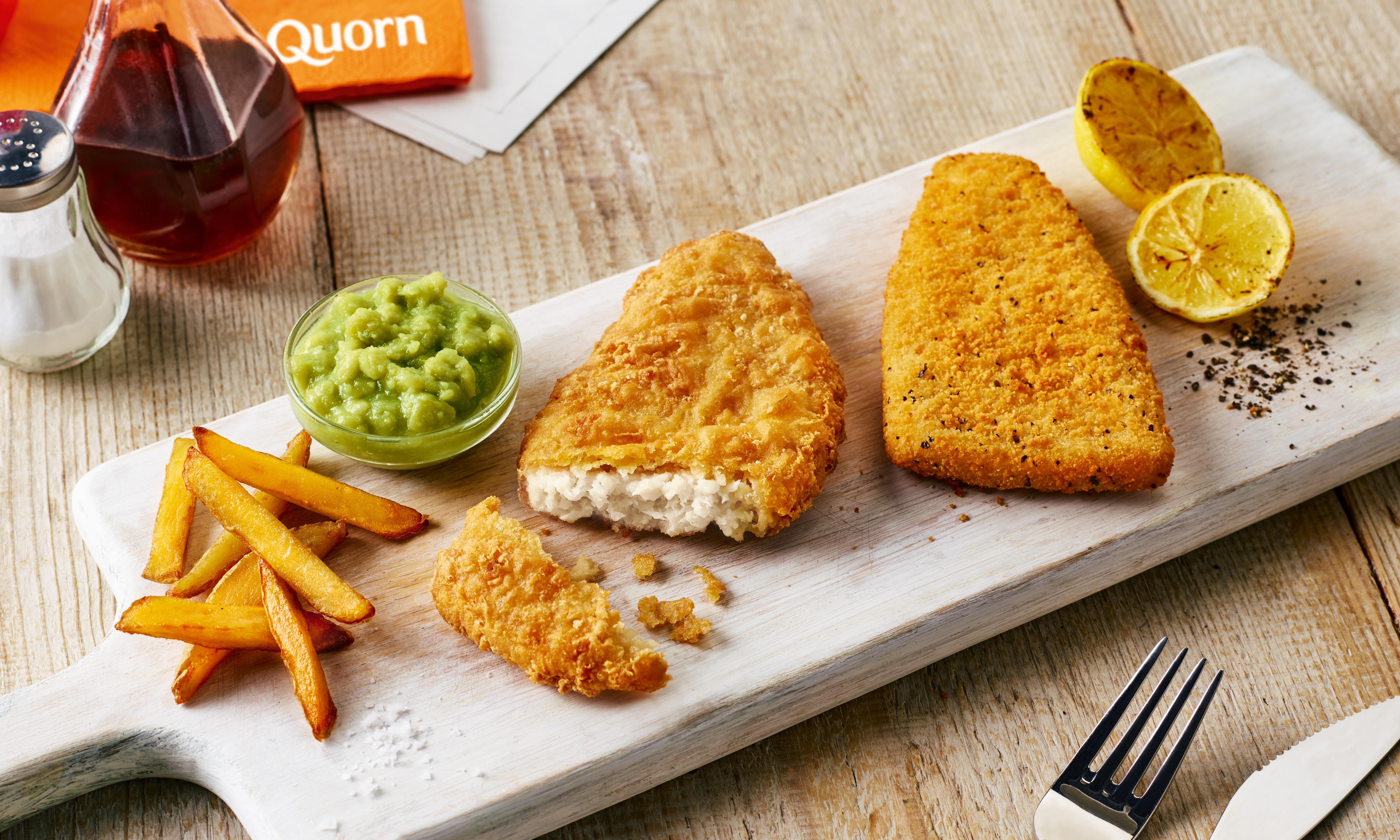 Even batter than the real thing? Fish and chips goes vegan