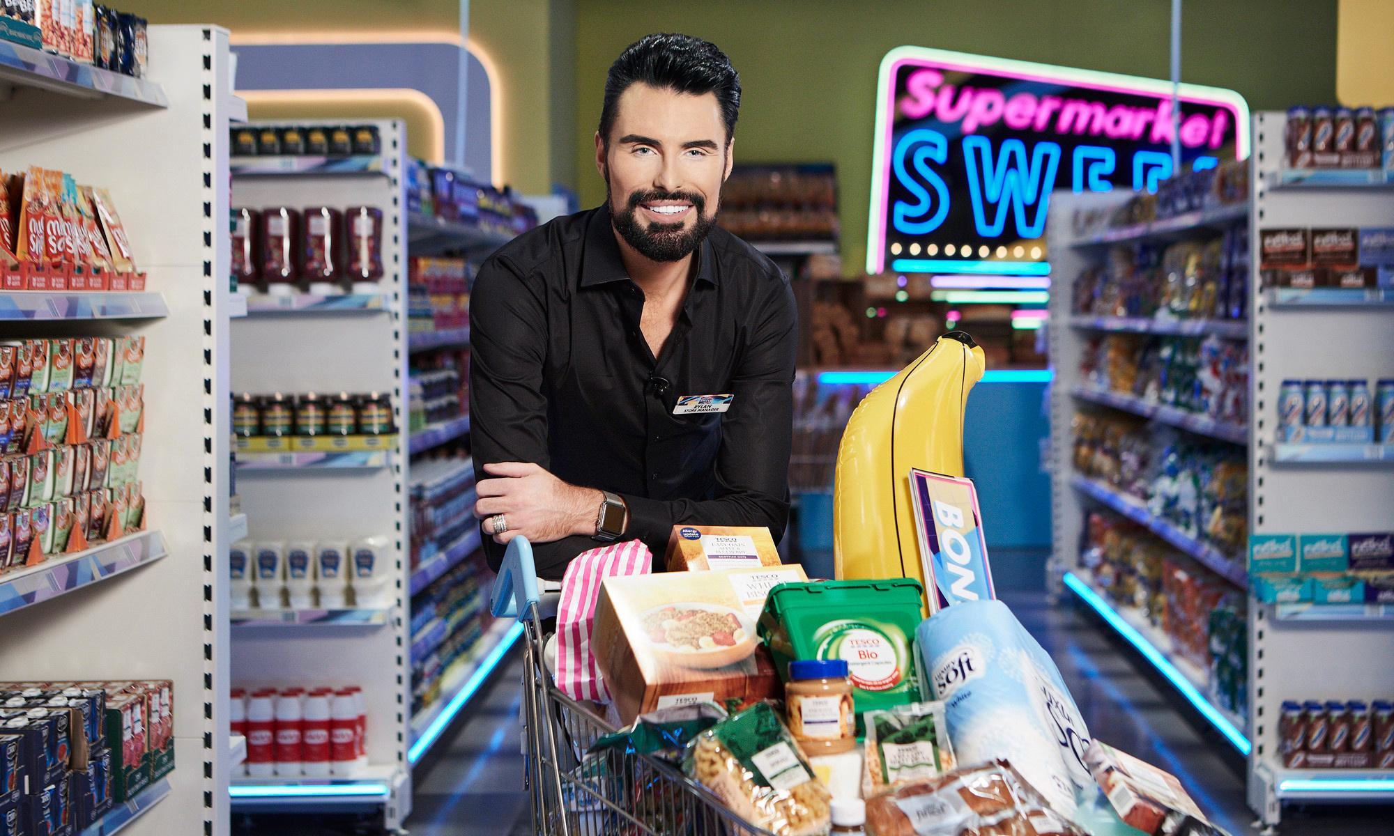 TV tonight: Rylan goes wild in the aisles on Supermarket Sweep
