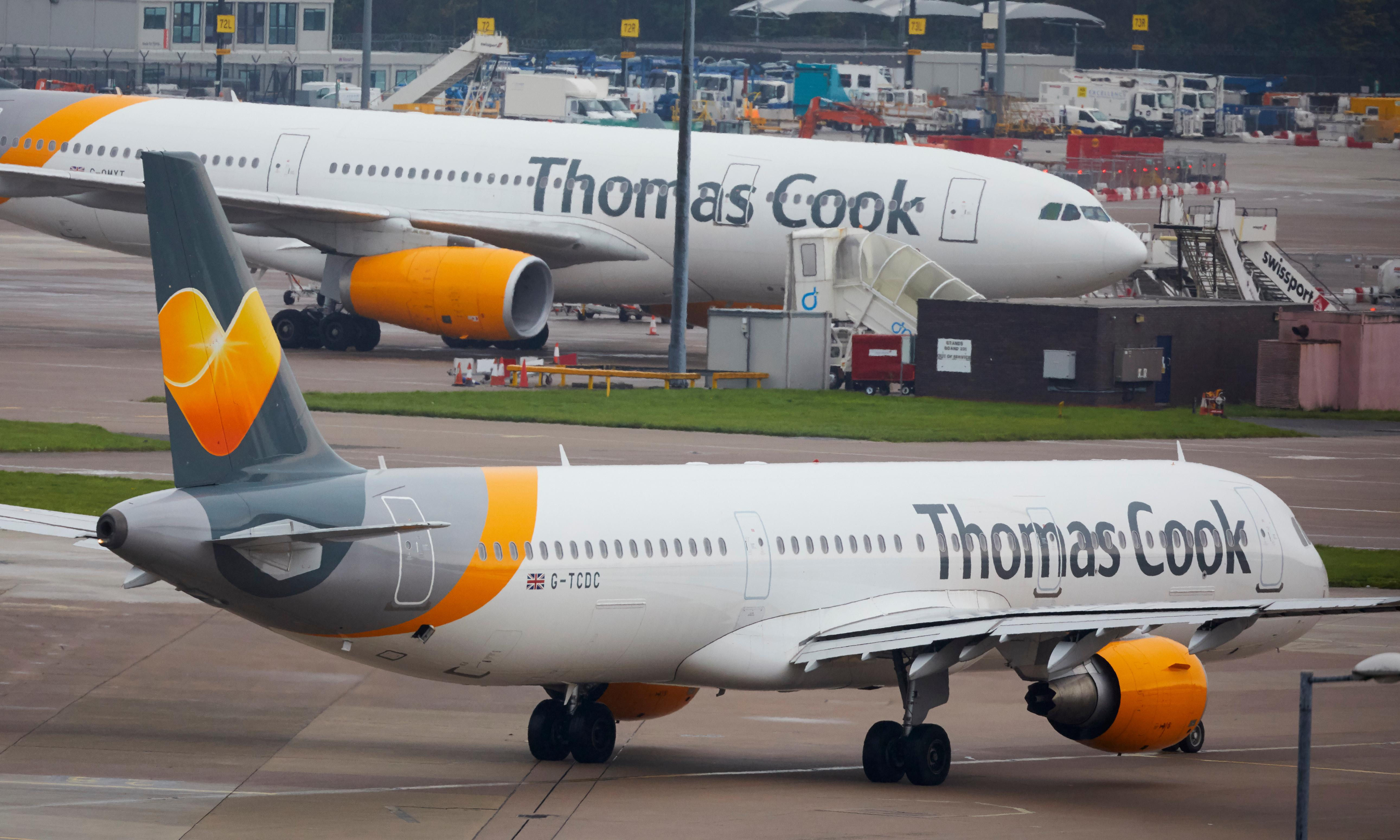 Monday briefing: Thomas Cook goes bust, stranding thousands