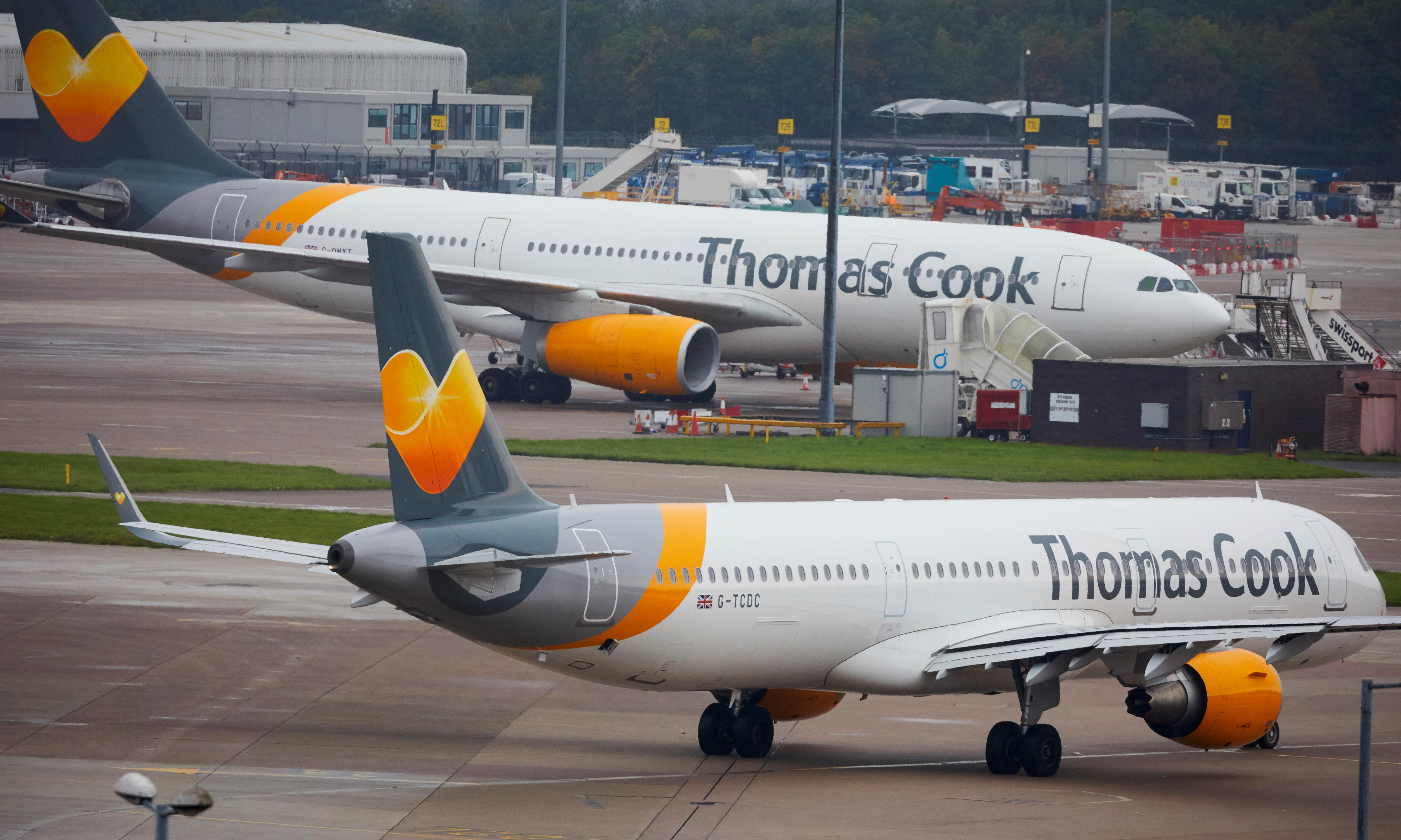 Thomas Cook collapses, stranding 150,000 UK holidaymakers