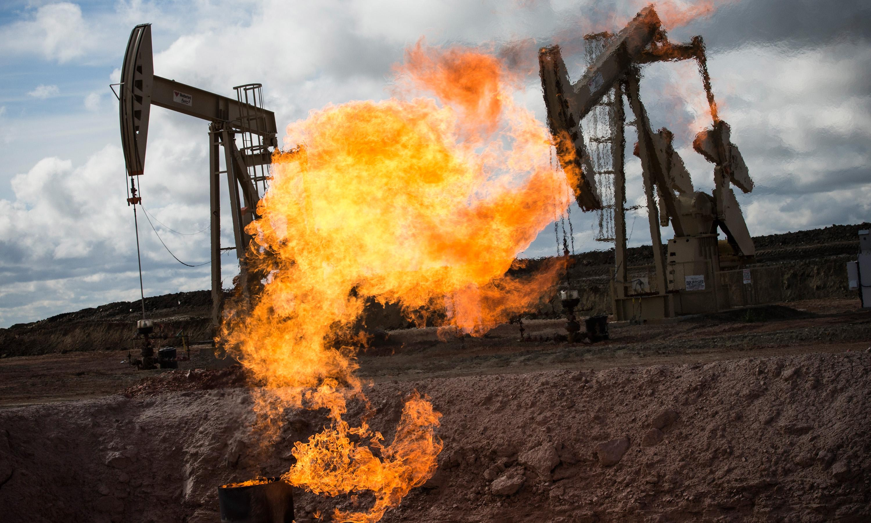 Fracking causing rise in methane emissions, study finds