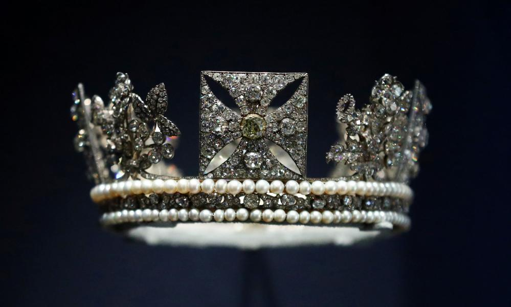 The Diamond Diadem, commissioned by George IV for his coronation.