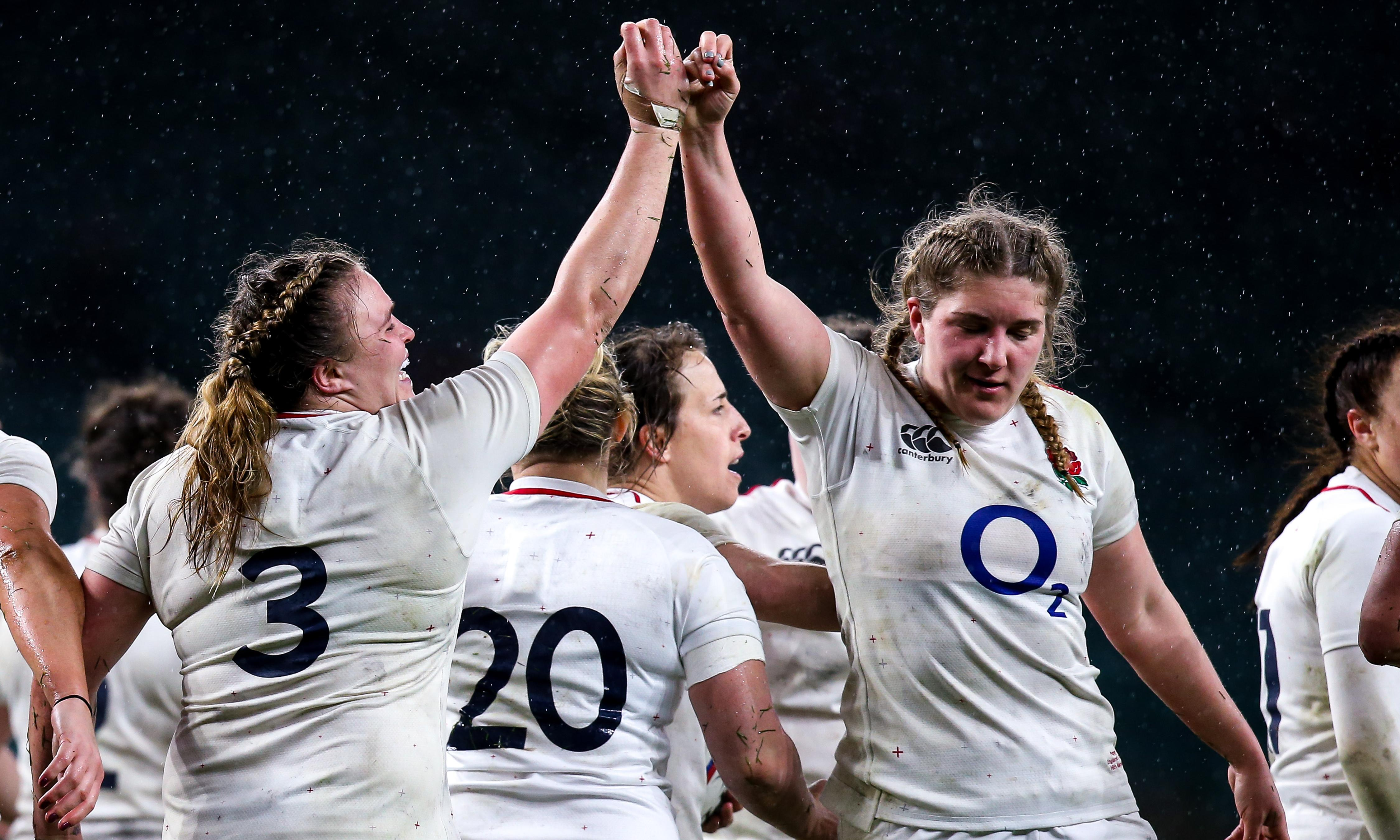 Women's Six Nations team of the tournament: all-conquering England dominate best XV