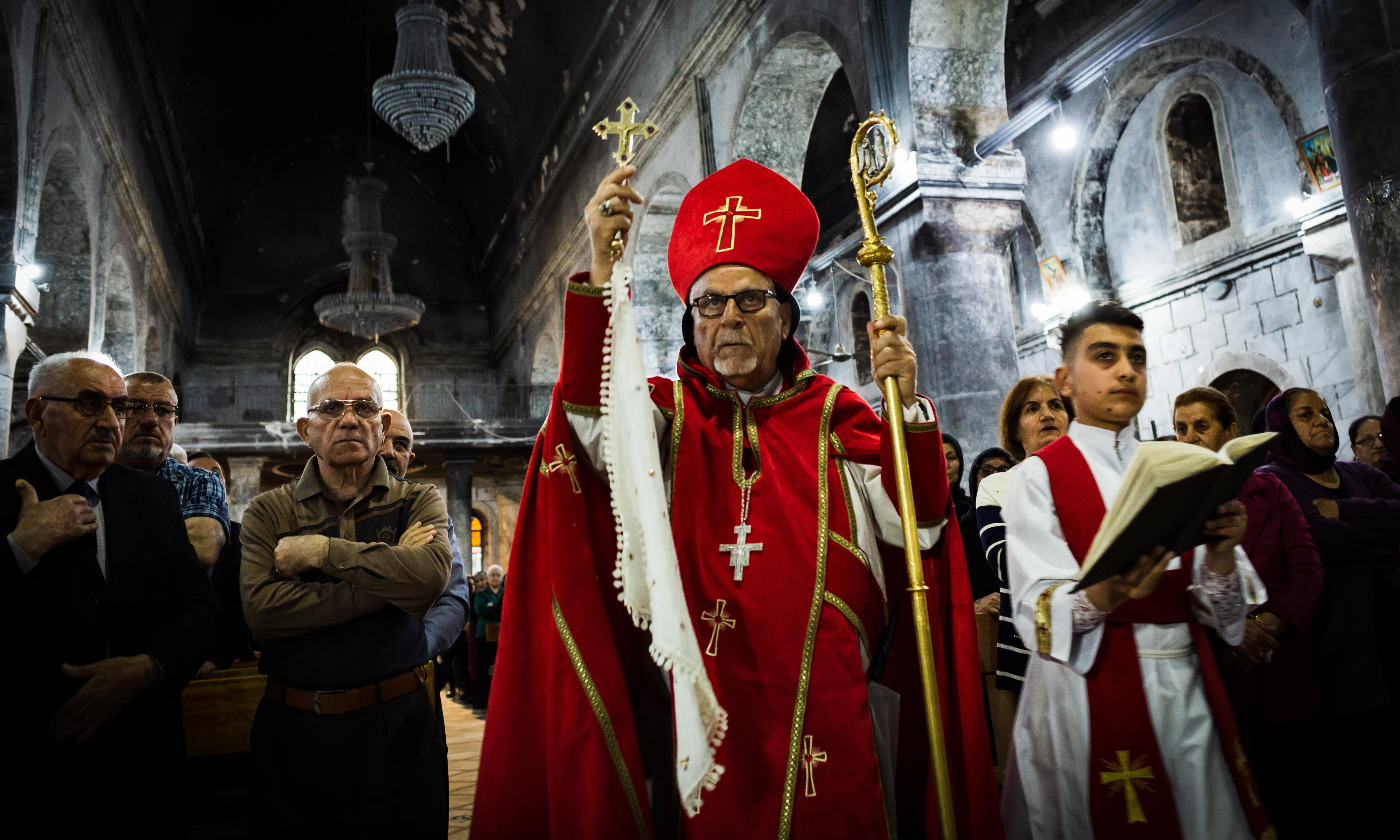 Iraq's oldest Christian town celebrates Easter without Isis