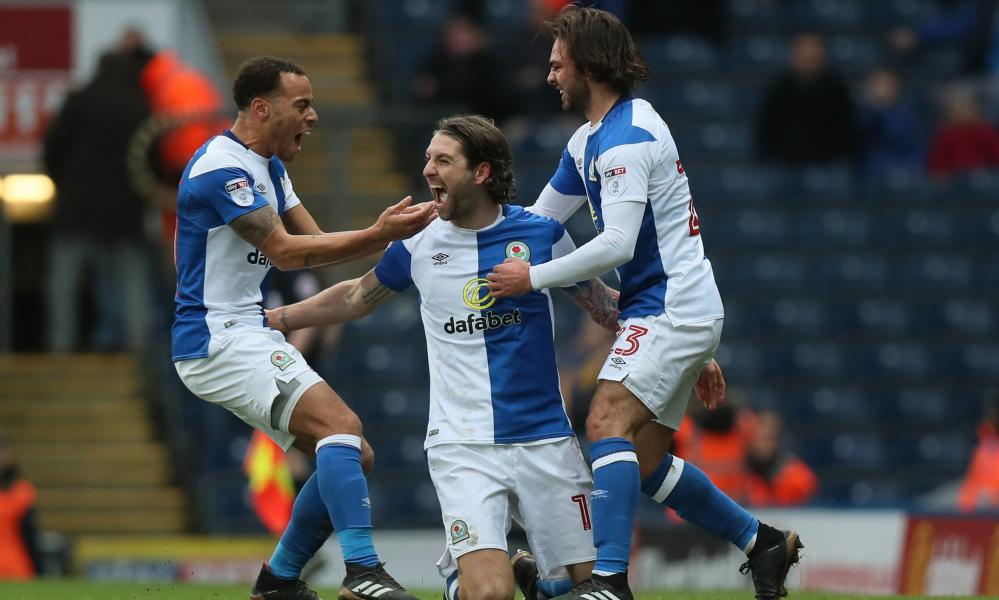 Charlie Mulgrew, Elliott Bennett and Bradley Dack