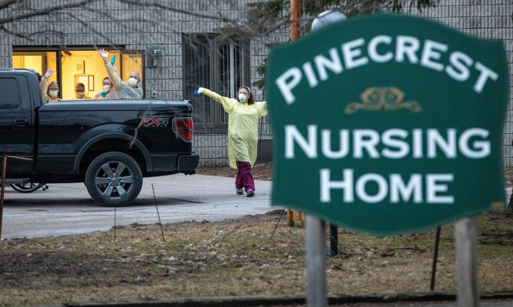 Workers at Pinecrest nursing home in Bobcaygeon, Ontario