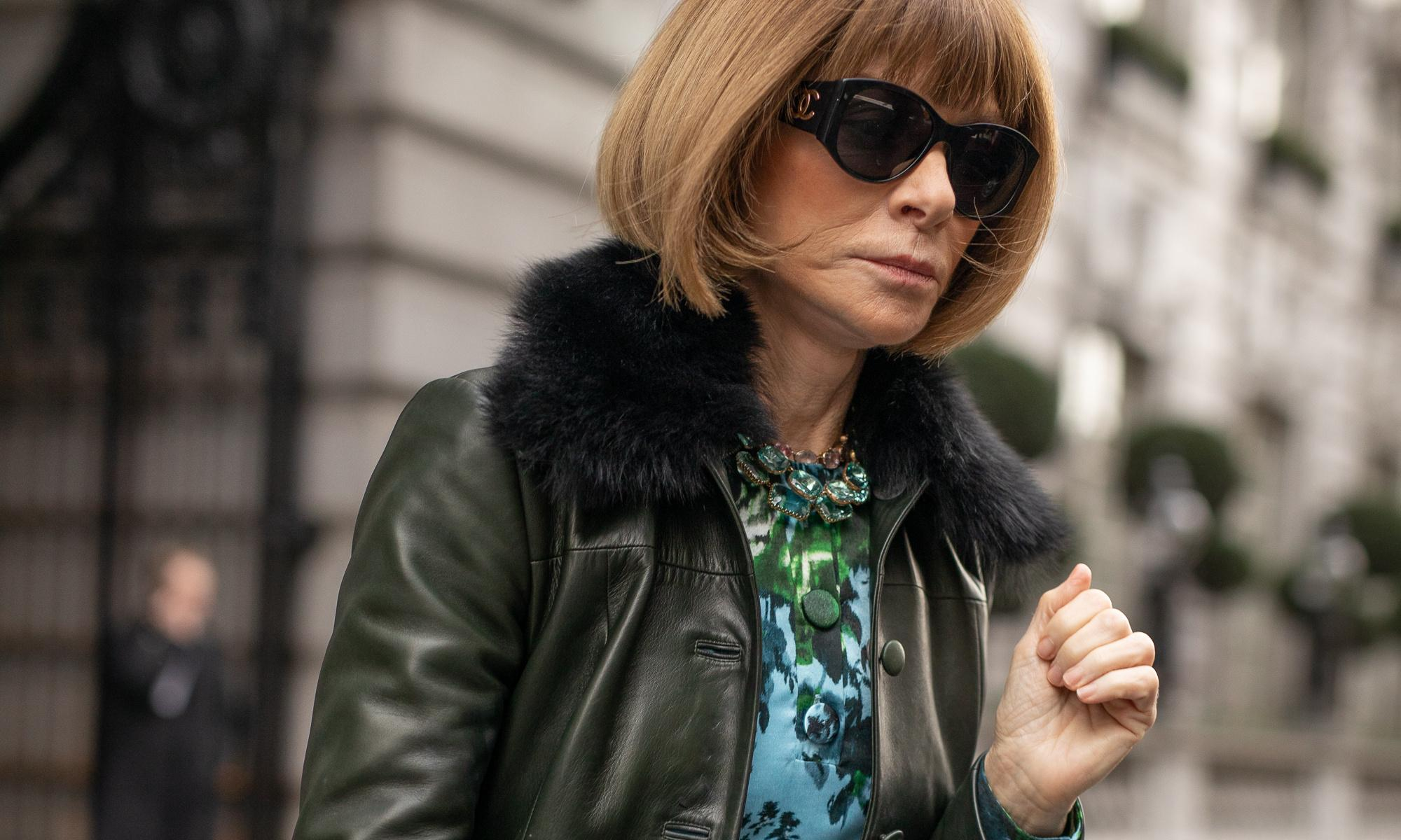 From Anna Wintour nails to black mascara: this week's fashion trends