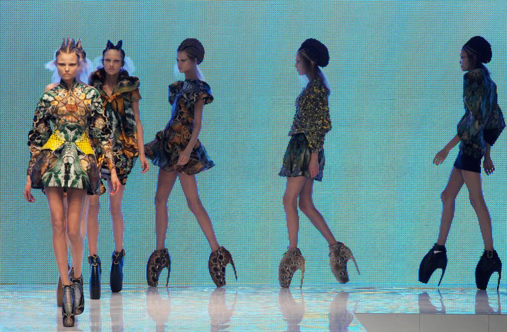 Alexander McQueen's 2010 show Plato's Atlantis was the the first to be livestreamed