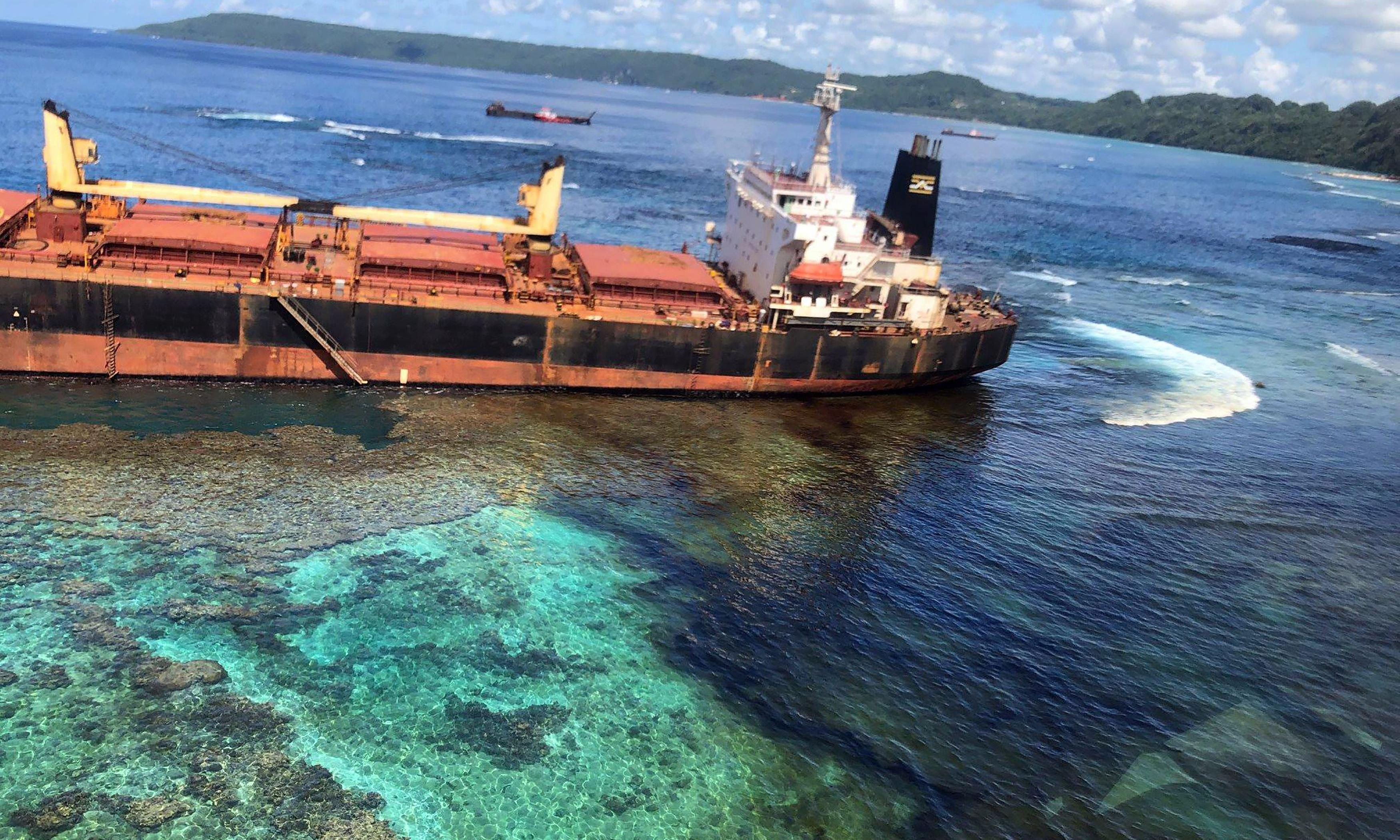 'We cannot swim, we cannot eat': Solomon Islands struggle with nation's worst oil spill