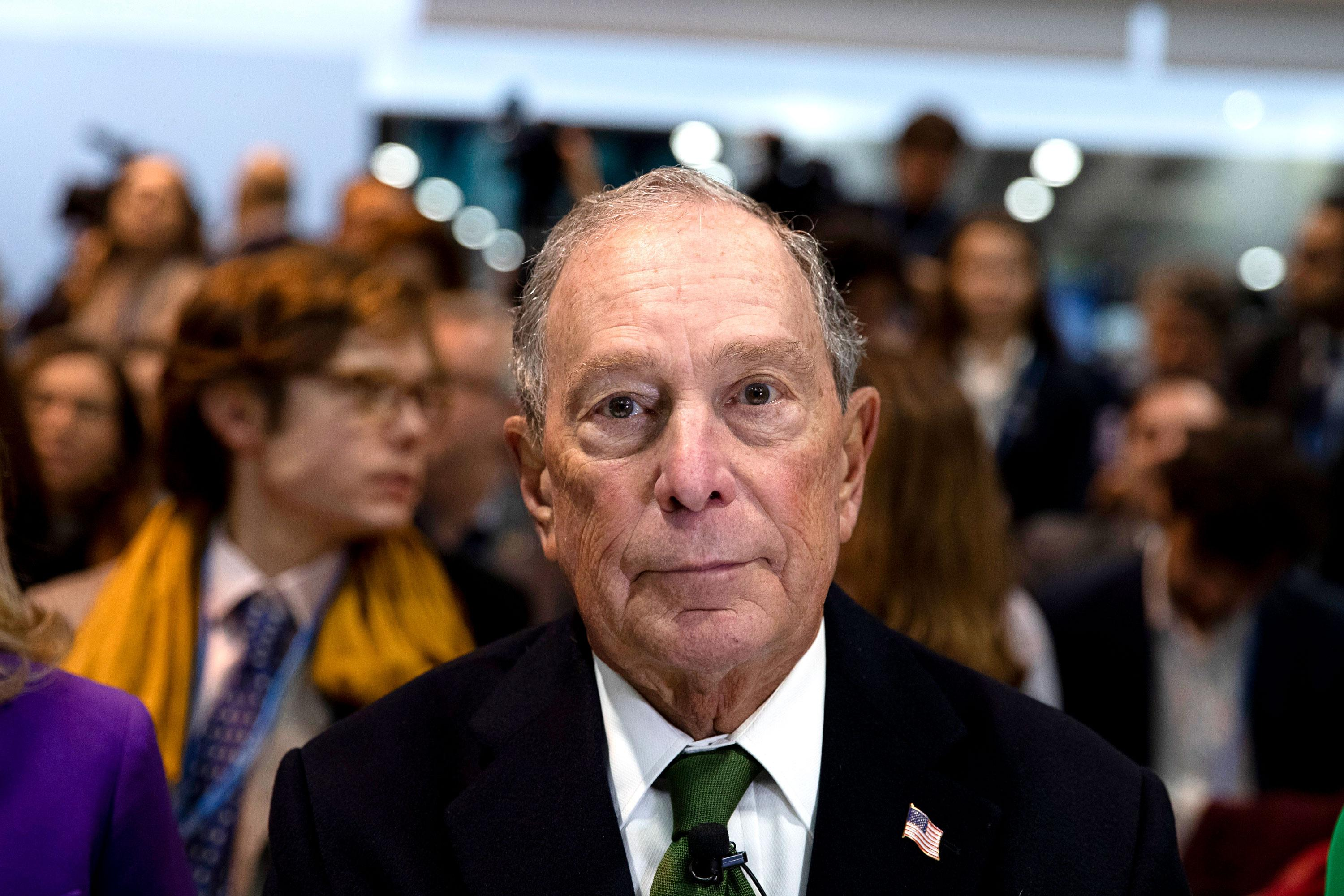 Man with the money: Democrats cry foul as Bloomberg splashes the cash