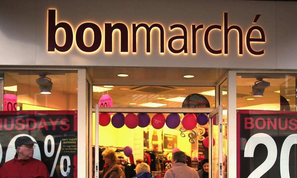 A Bonmarché store
