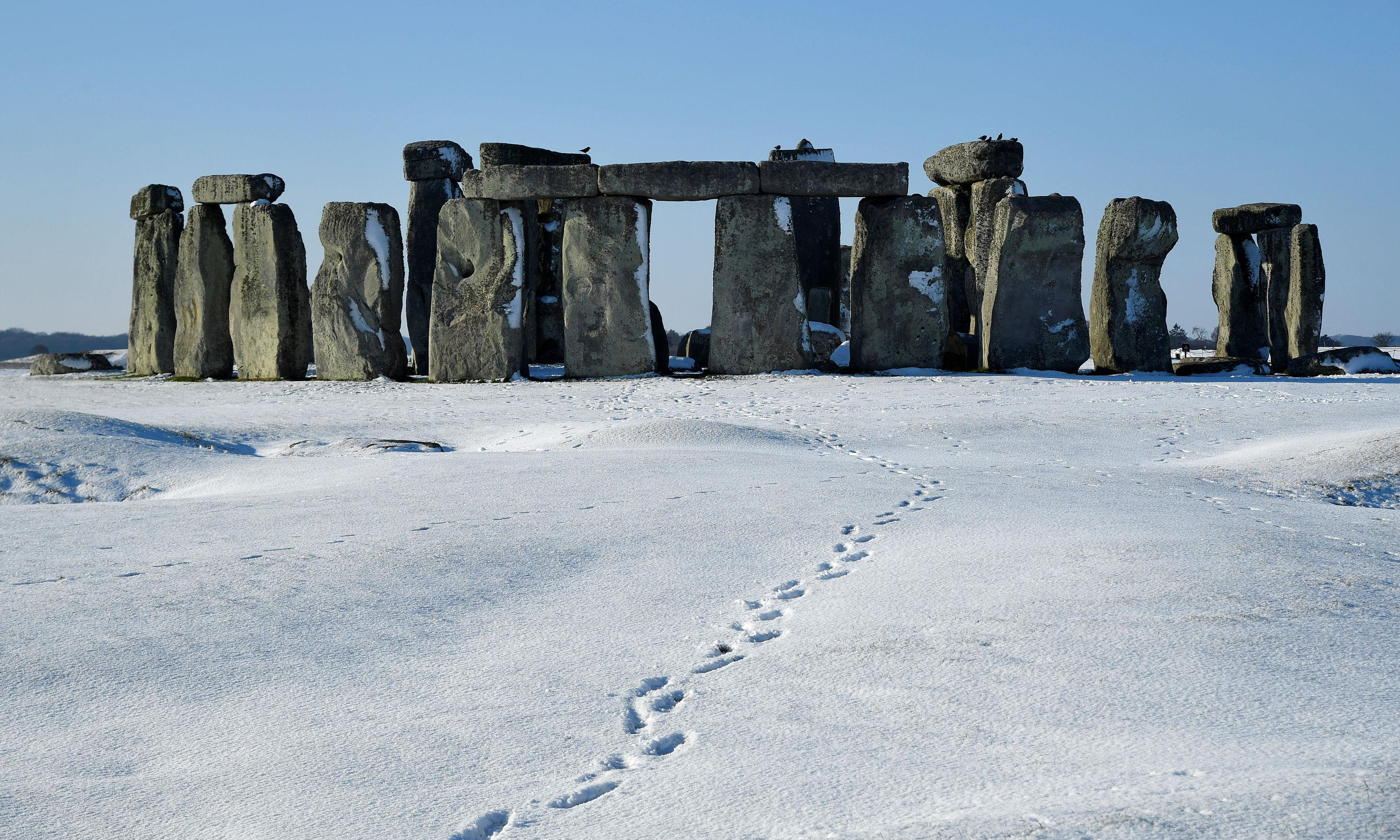 Mega lift? Stonehenge pillars were carried 230km over land – research
