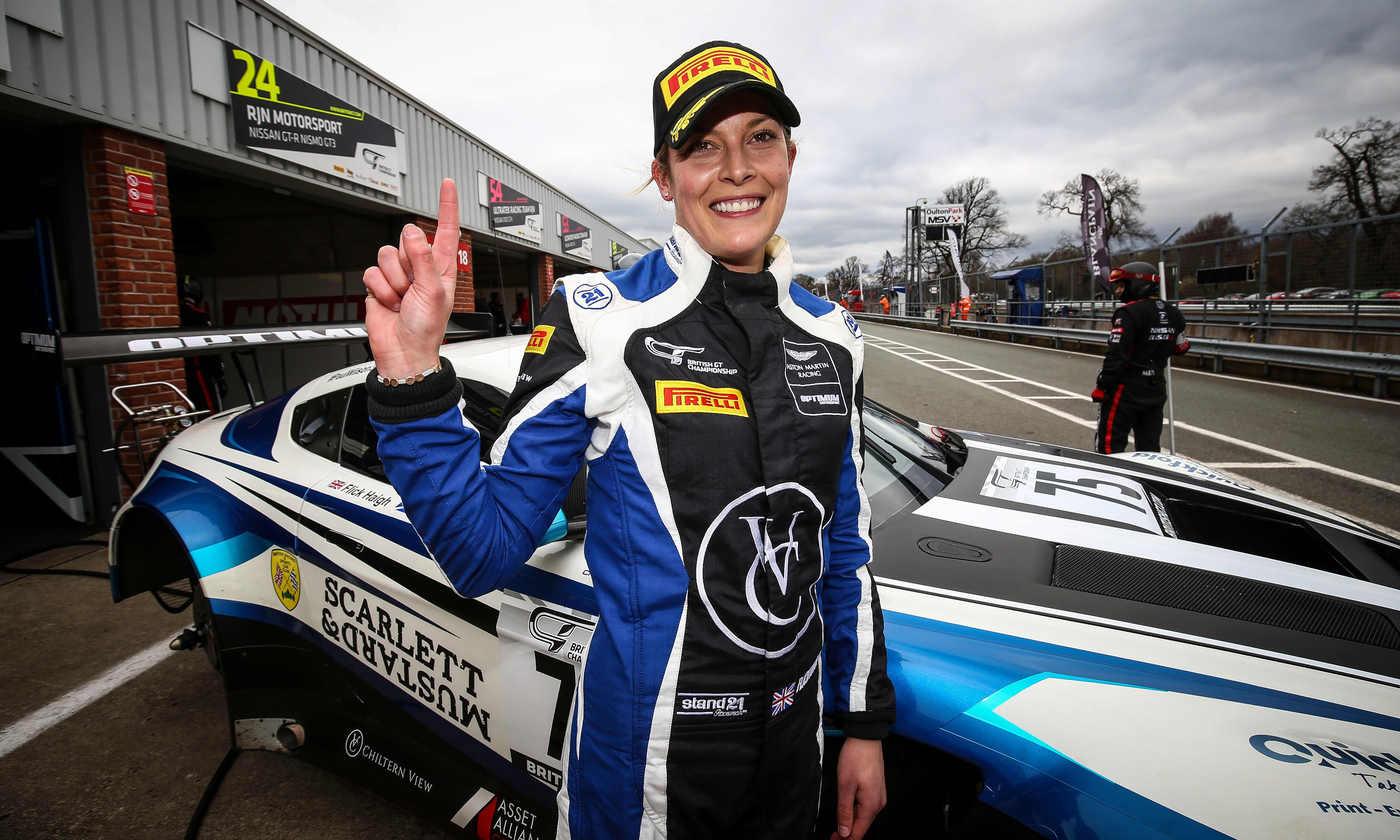 Britain's Flick Haigh heads for Le Mans despite lack of funding