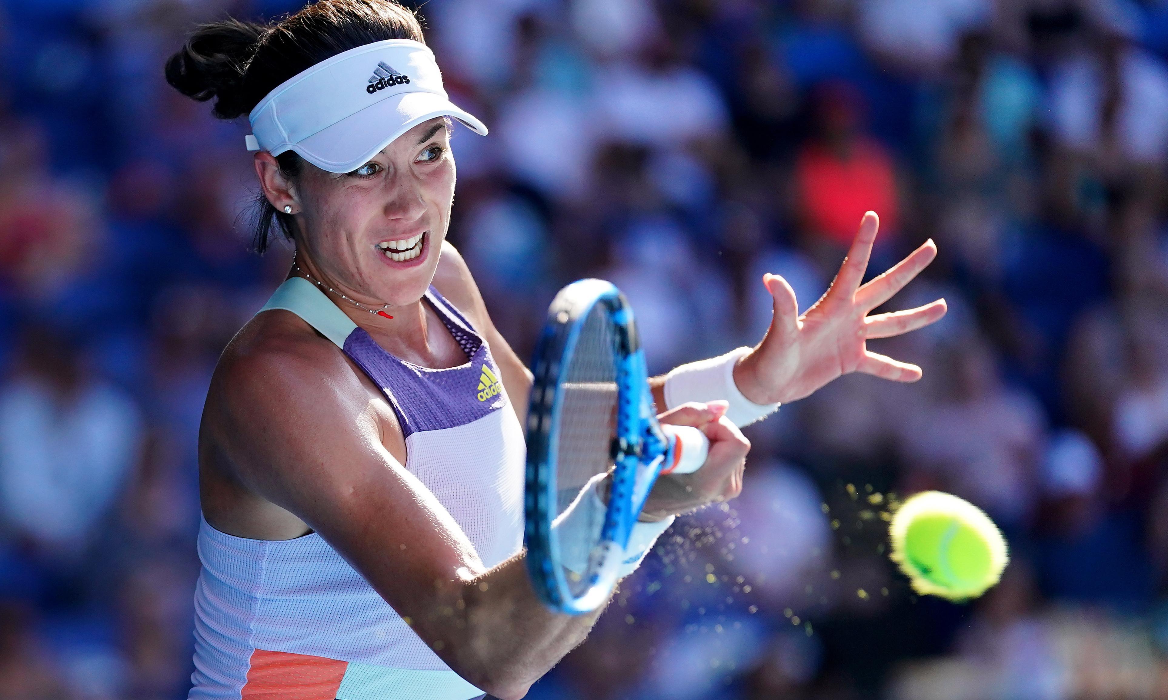 Garbiñe Muguruza primes power game for Australian Open final against Kenin