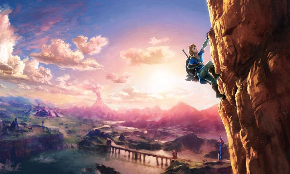 Zelda Breath í Wild