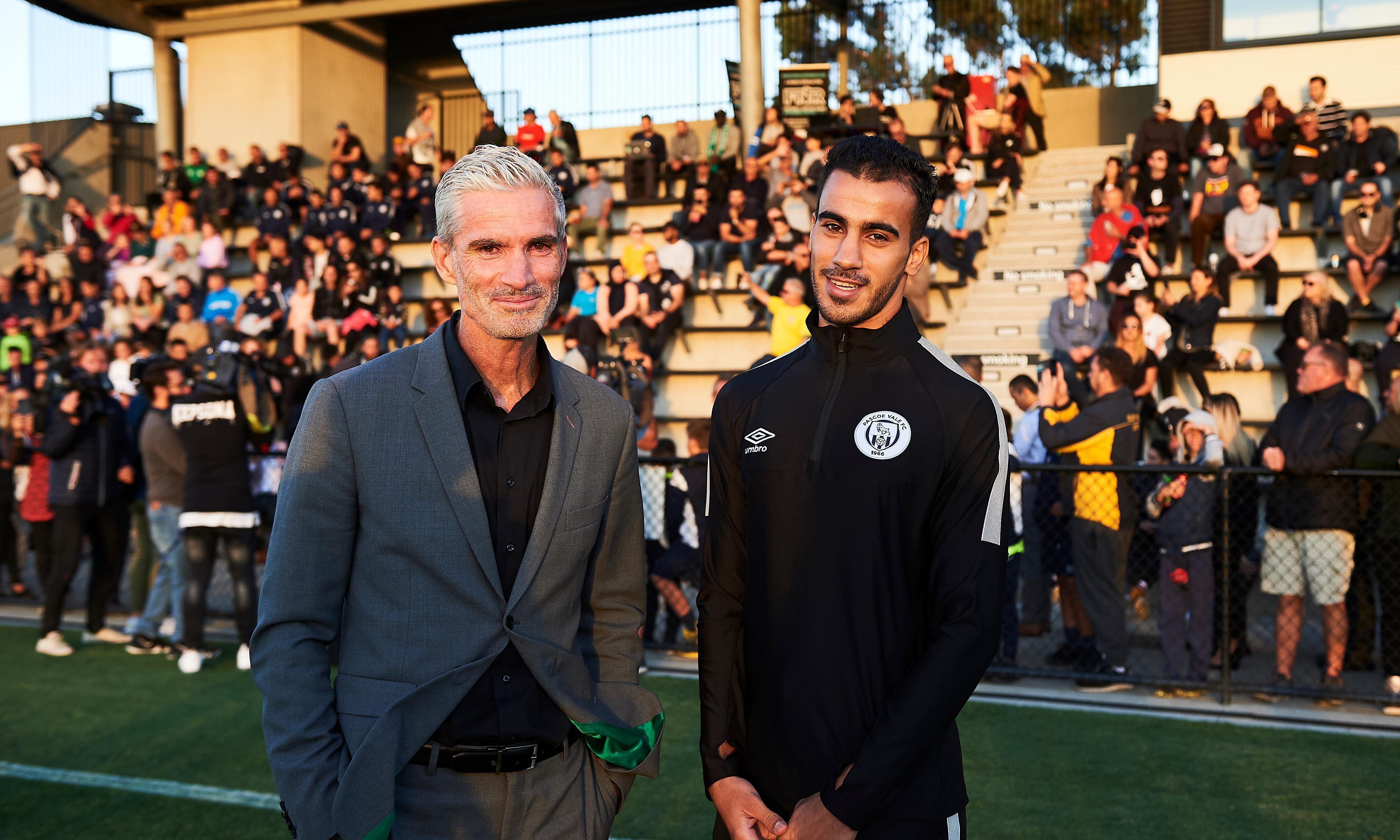 'Big surprise': Hakeem al-Araibi feels the love as he returns to football club