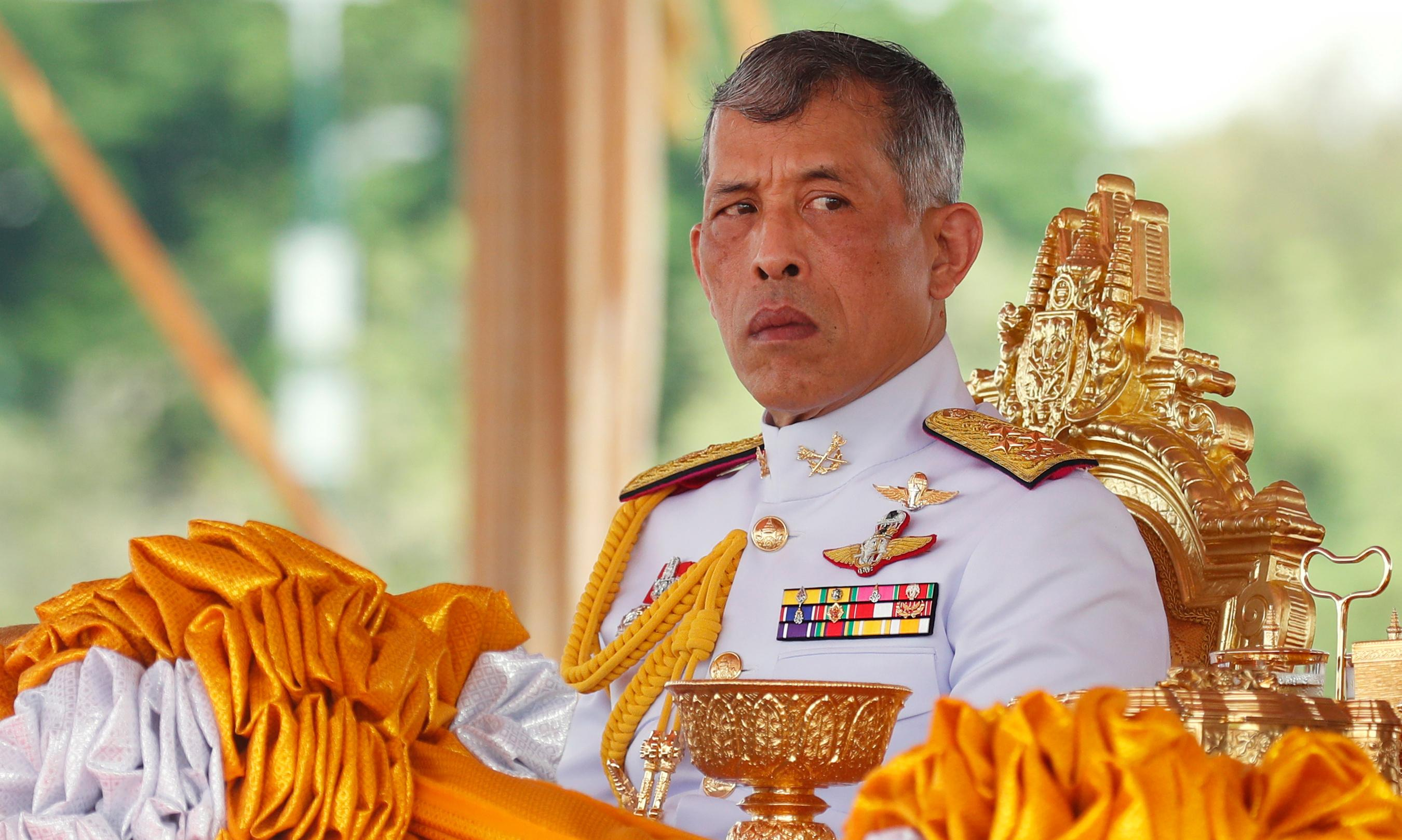 Thai king fires royal guards for 'adultery' as purges continue