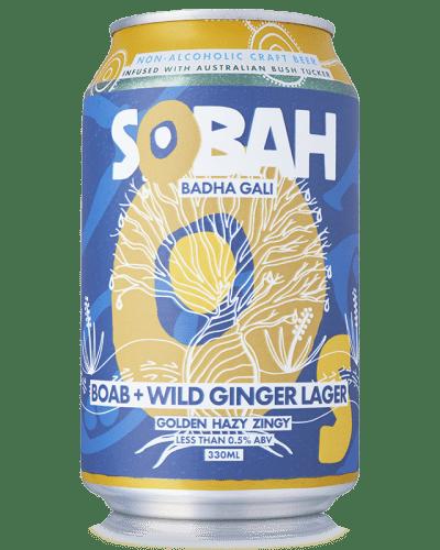 Sobah Beverages Boab Wild Ginger Lager