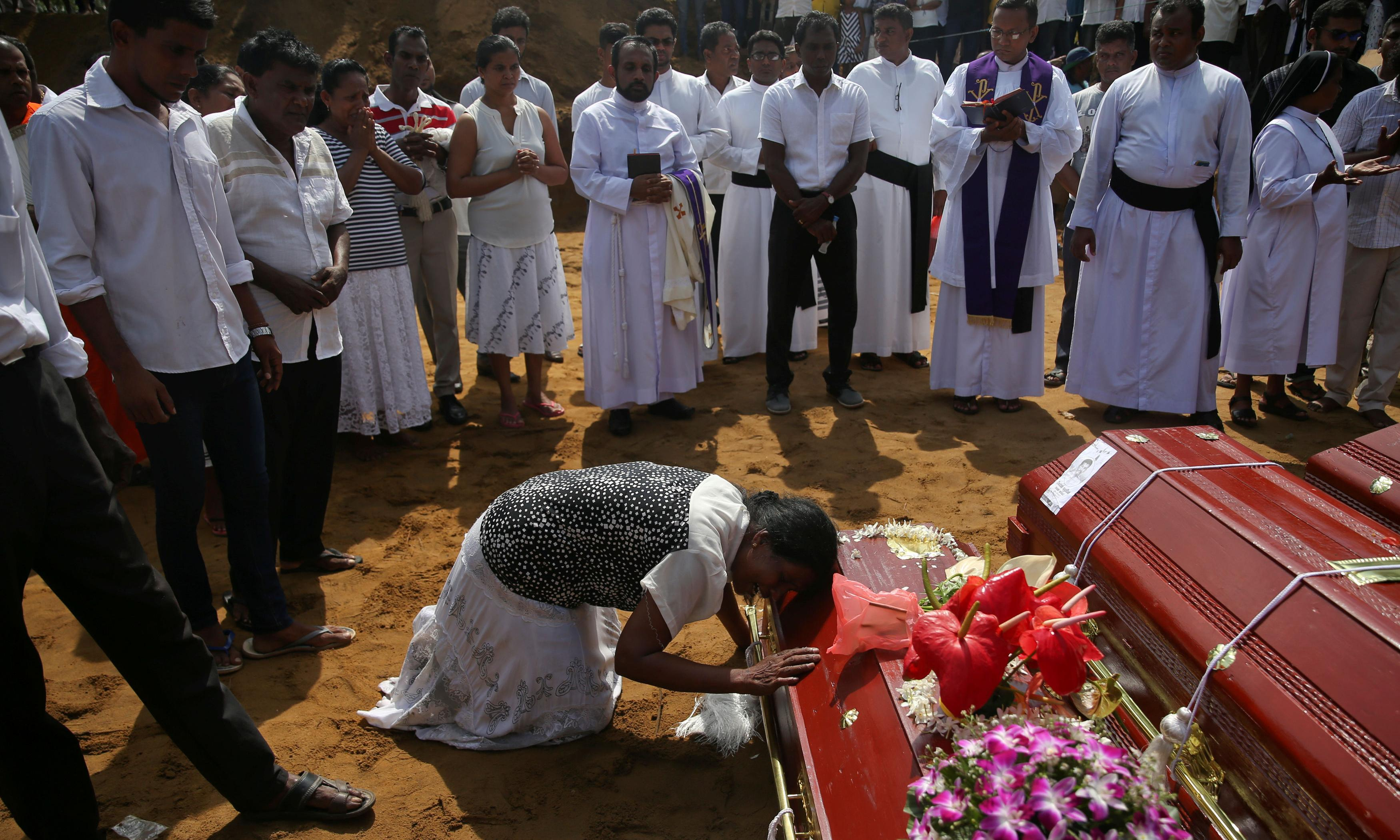 Sri Lanka bombings: Islamic State claims responsibility for attacks