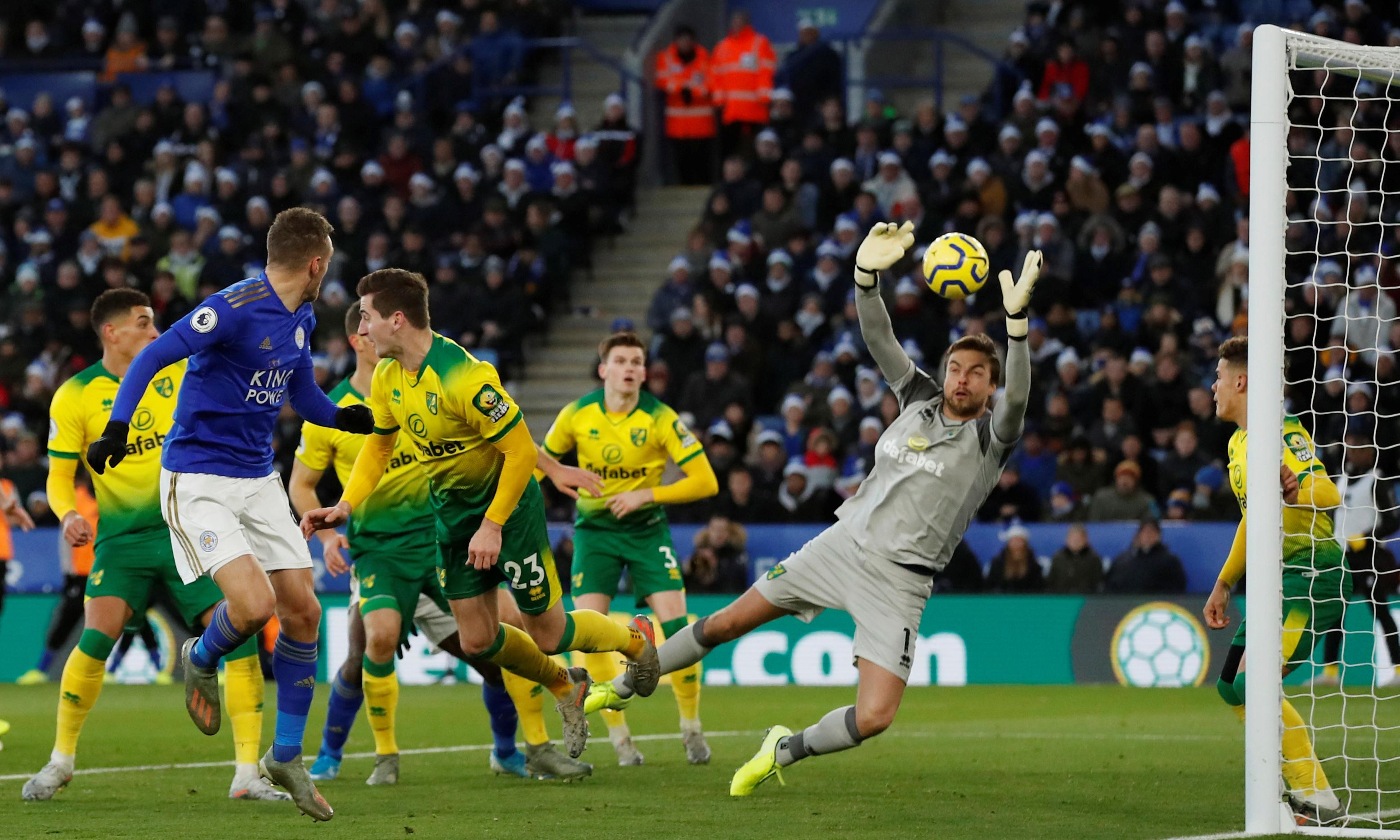 Leicester surge blocked by Norwich draw after Teemu Pukki strikes again
