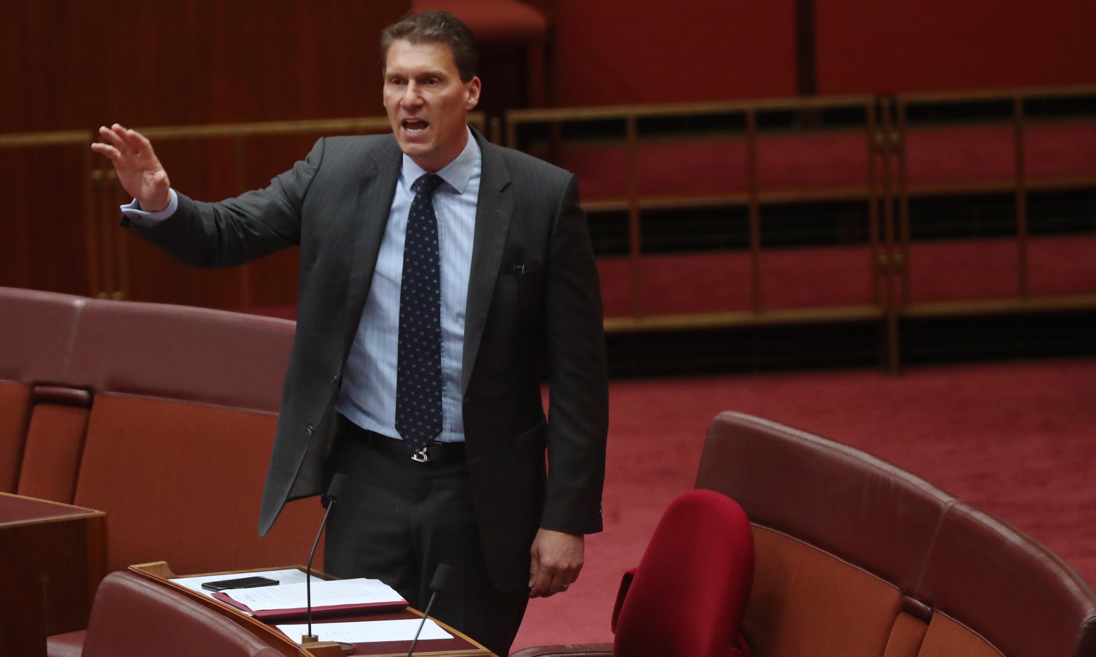 Cory Bernardi considers rejoining Coalition and leaving parliament before term expires