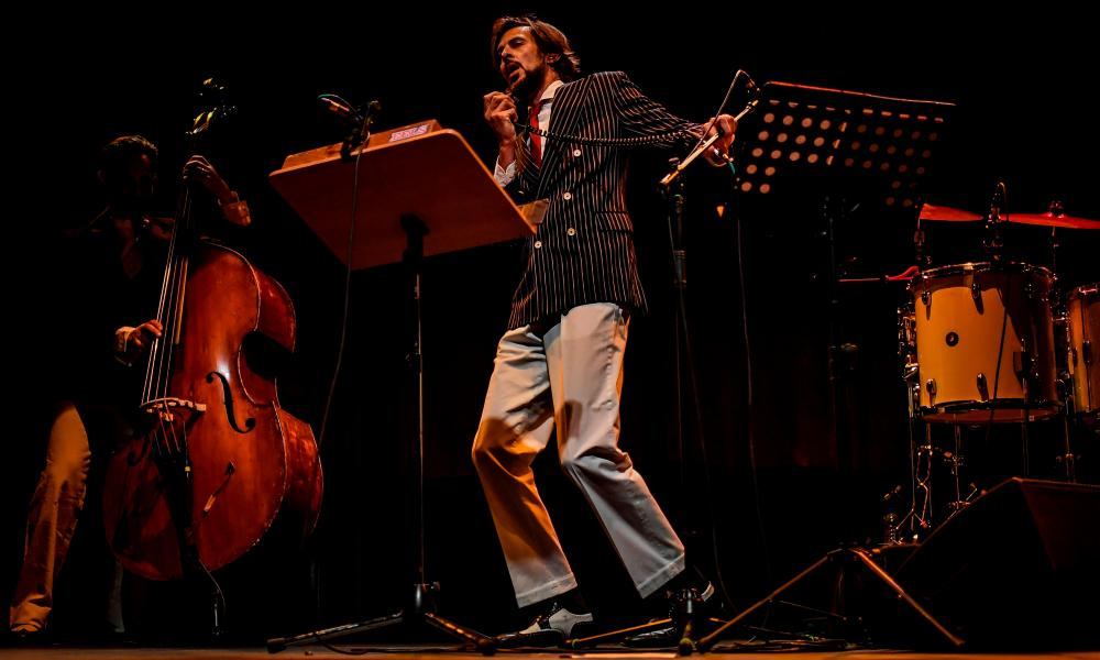 Portuguese entertainer Bruno Nogueira