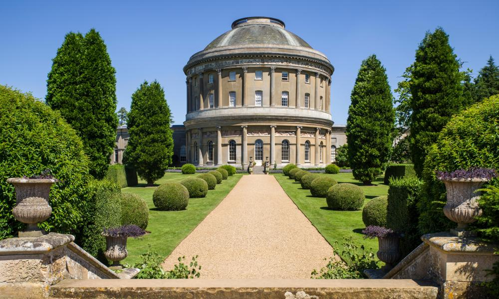 Grand design: Ickworth House.