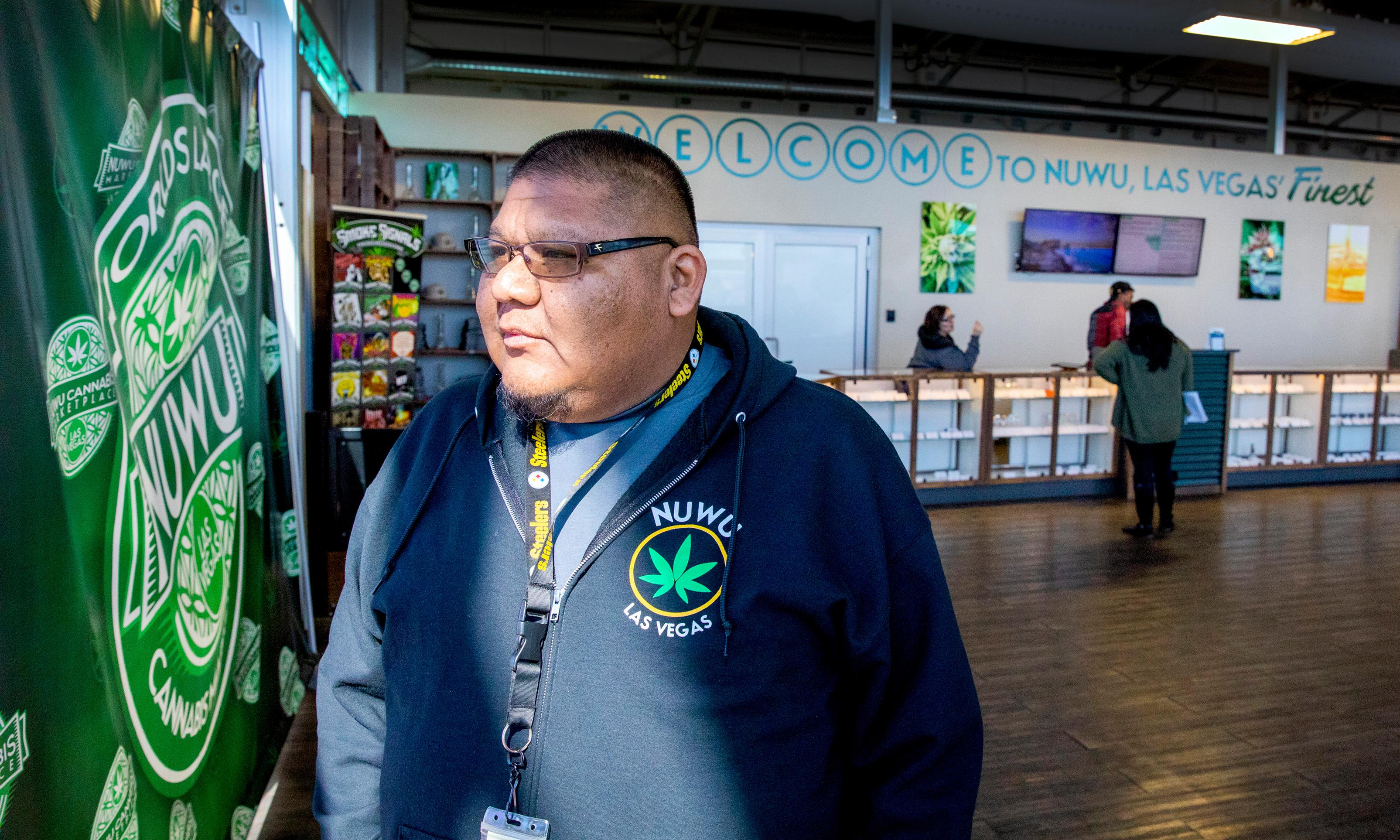 'The tribe has taken over': the Native Americans running Las Vegas's only cannabis lounge