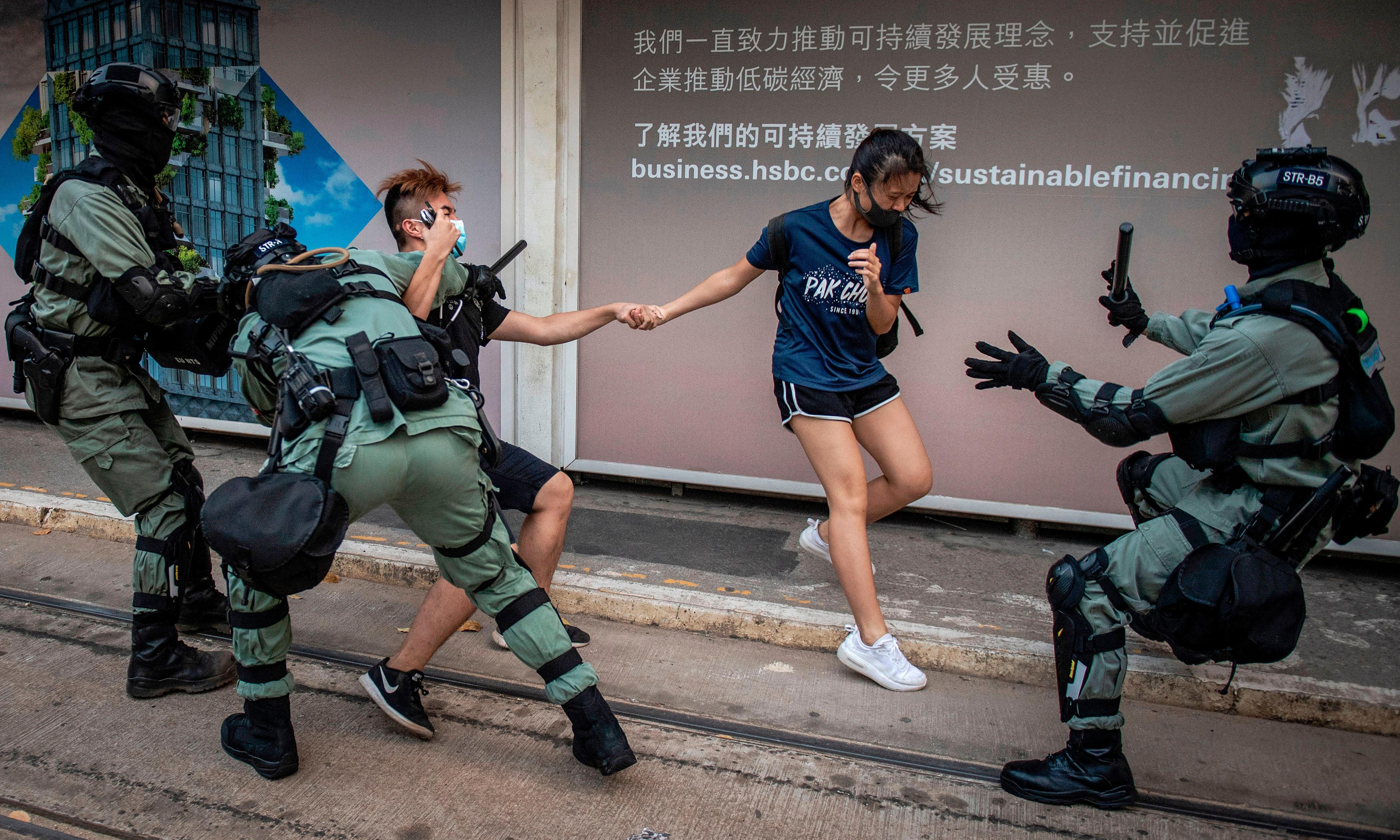 From the US to Hong Kong, the right to protest peacefully is under attack