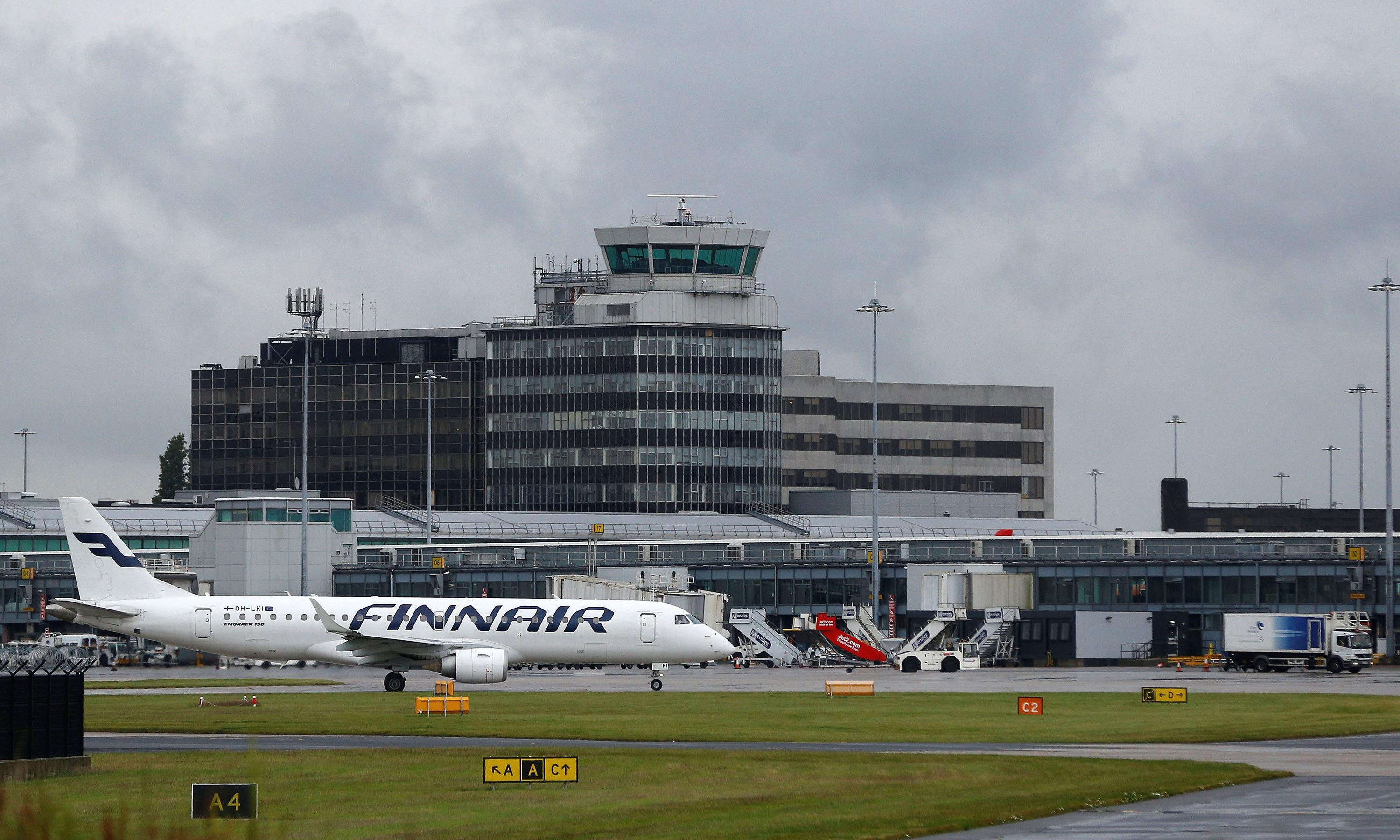 Manchester airport 'back to normal' after cancelled flights