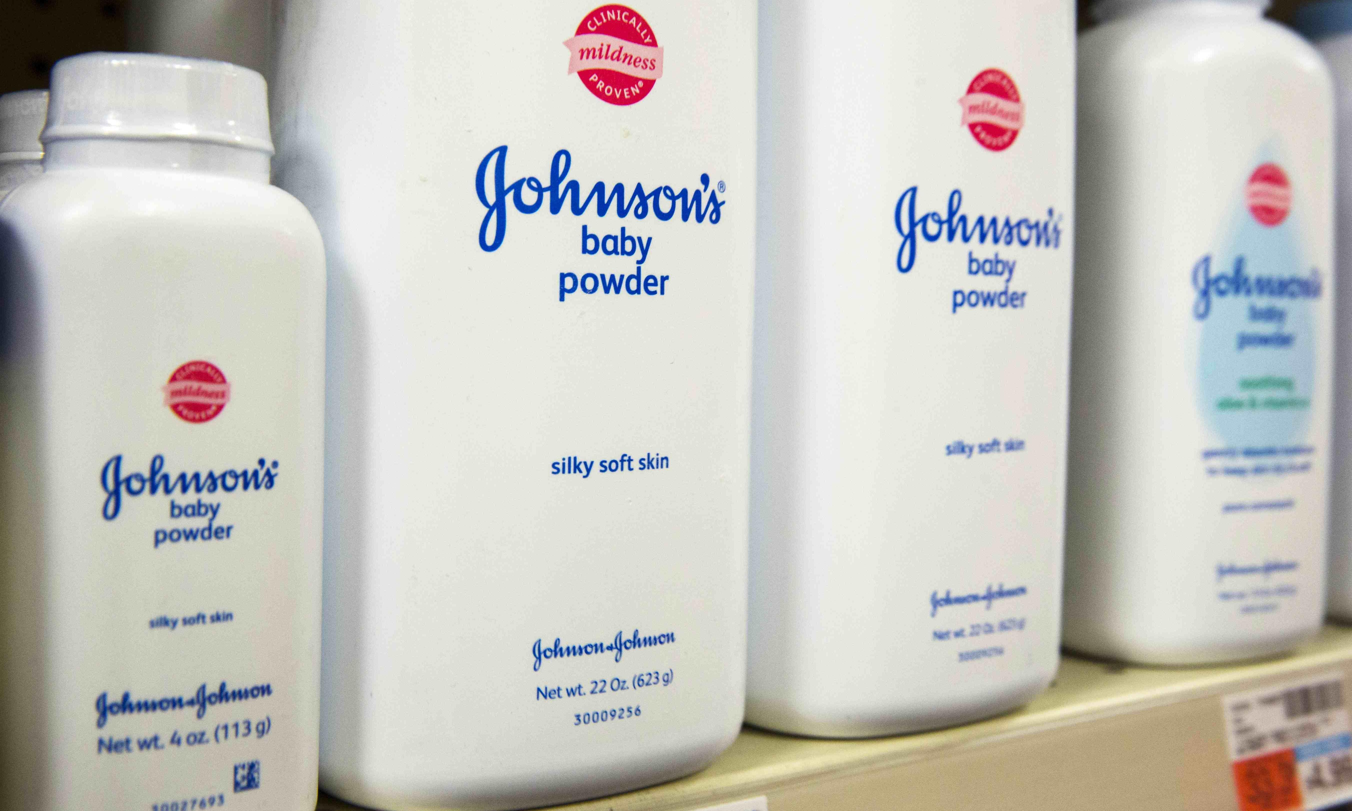 Johnson & Johnson ordered to pay $4.7bn over talc cancer claims