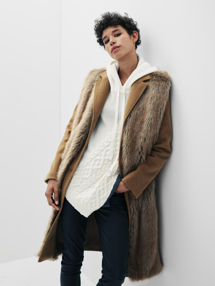 Camel coat by Osman, from Next's Label/Mix collection, £275